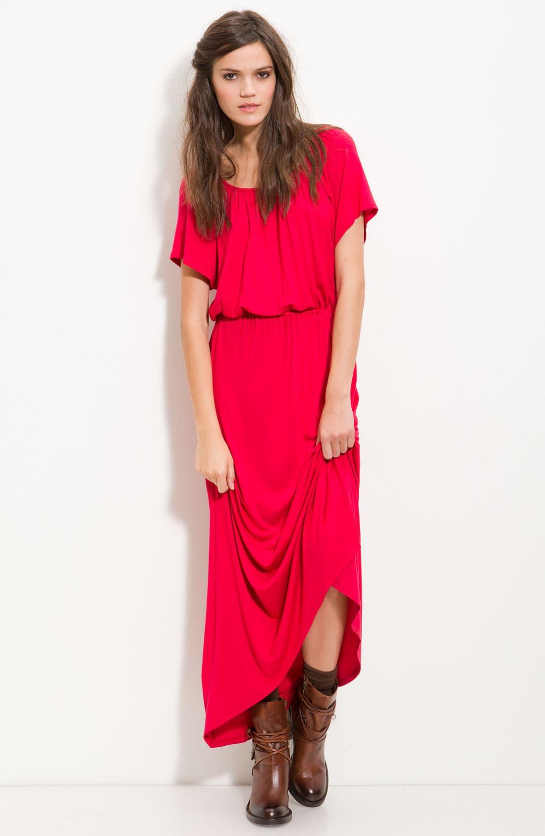 Main Image - Ella Moss 'Girl's Best Friend' Slit Back Maxi Dress