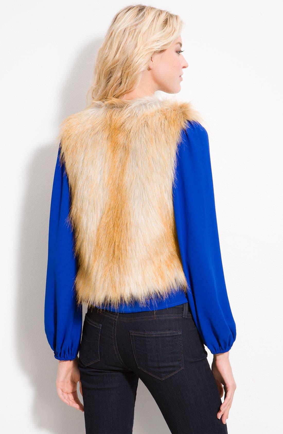 Alternate Image 2  - Sanctuary Faux Fur Vest