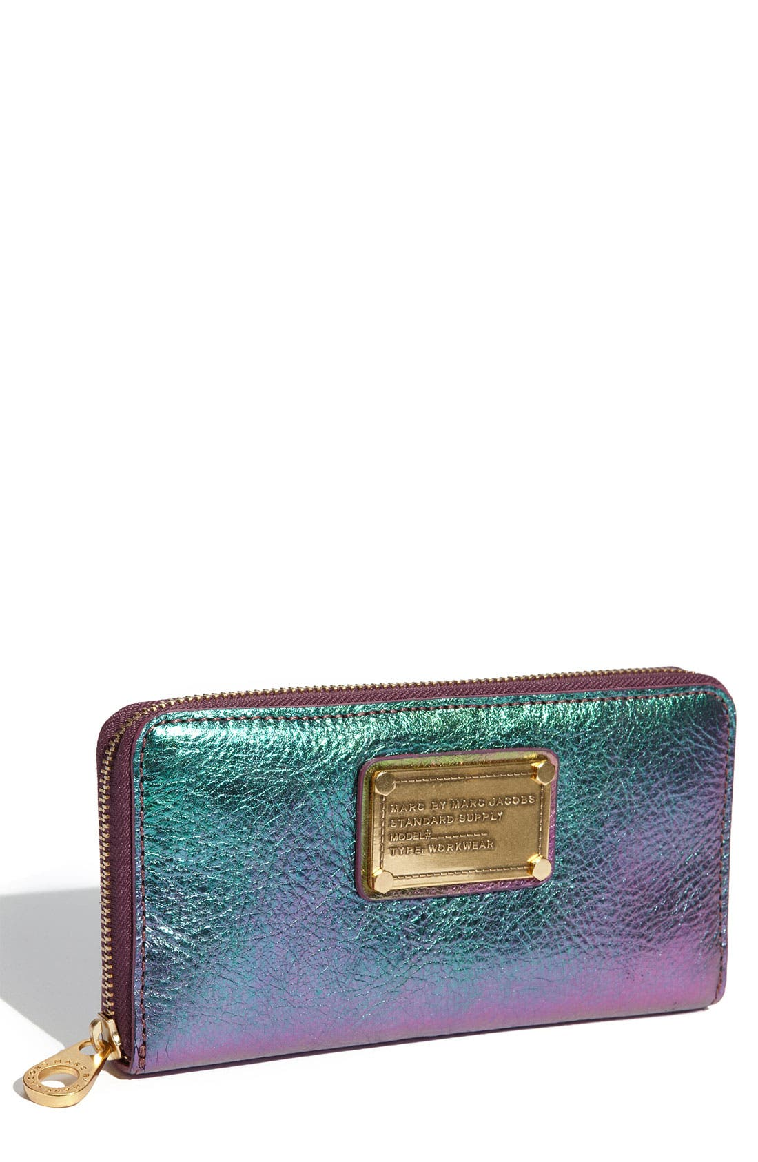Main Image - MARC BY MARC JACOBS 'Classic Q - Vertical Zippy' Wallet