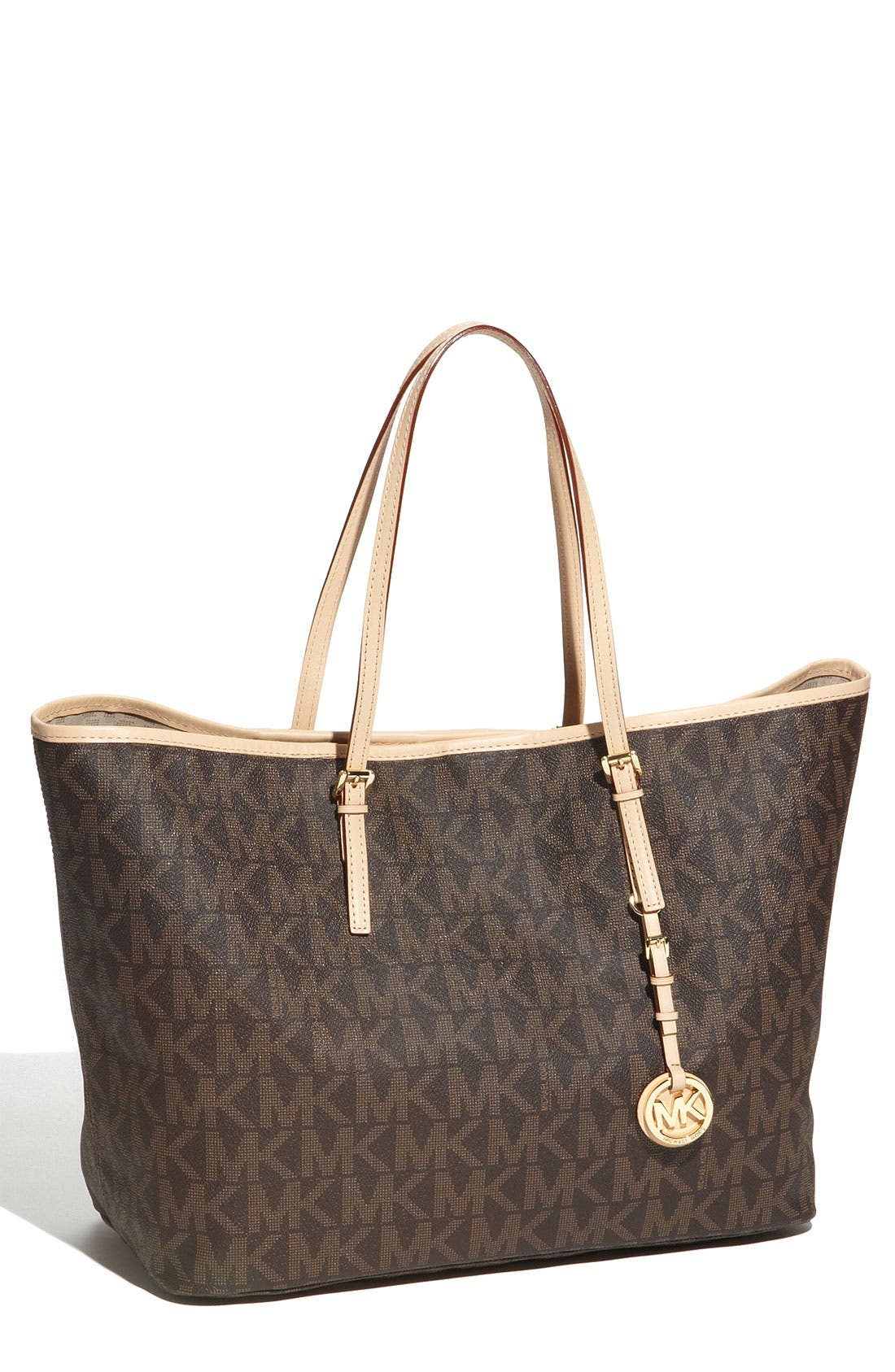 Main Image - MICHAEL Michael Kors 'Jet Set - Medium' Travel Tote