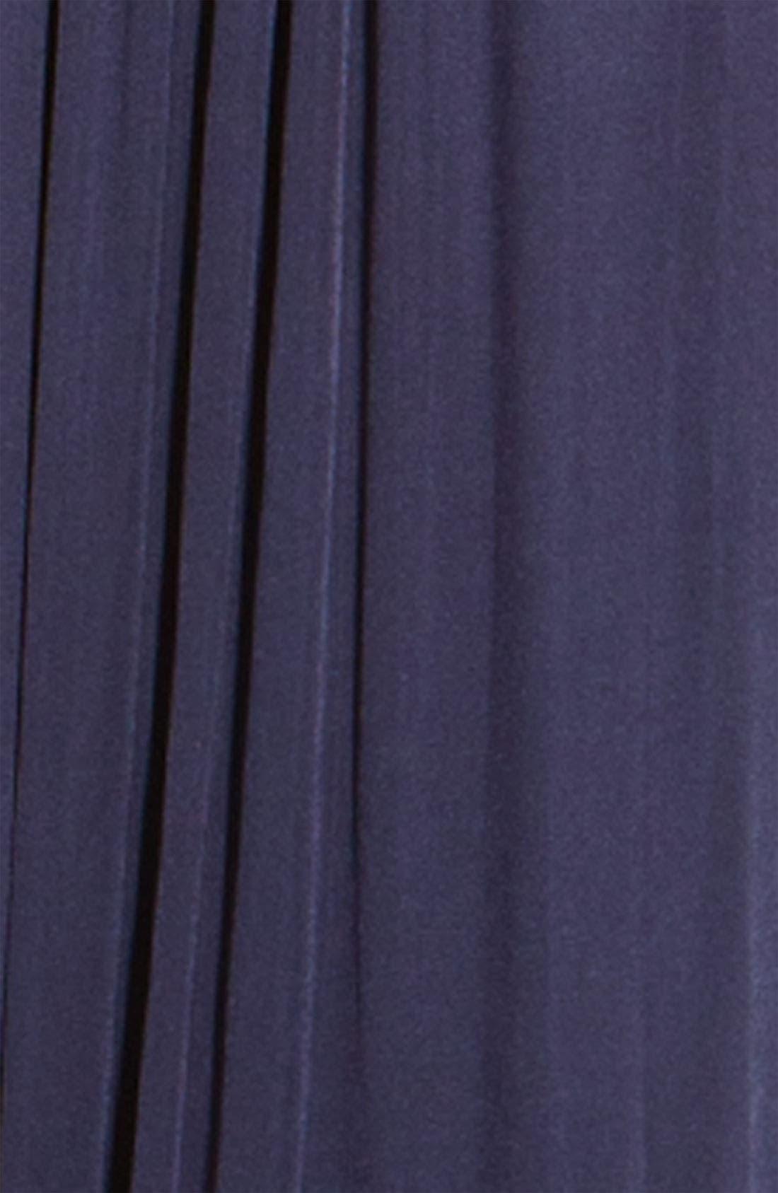 Alternate Image 3  - BCBGMAXAZRIA Iridescent Jersey Gown