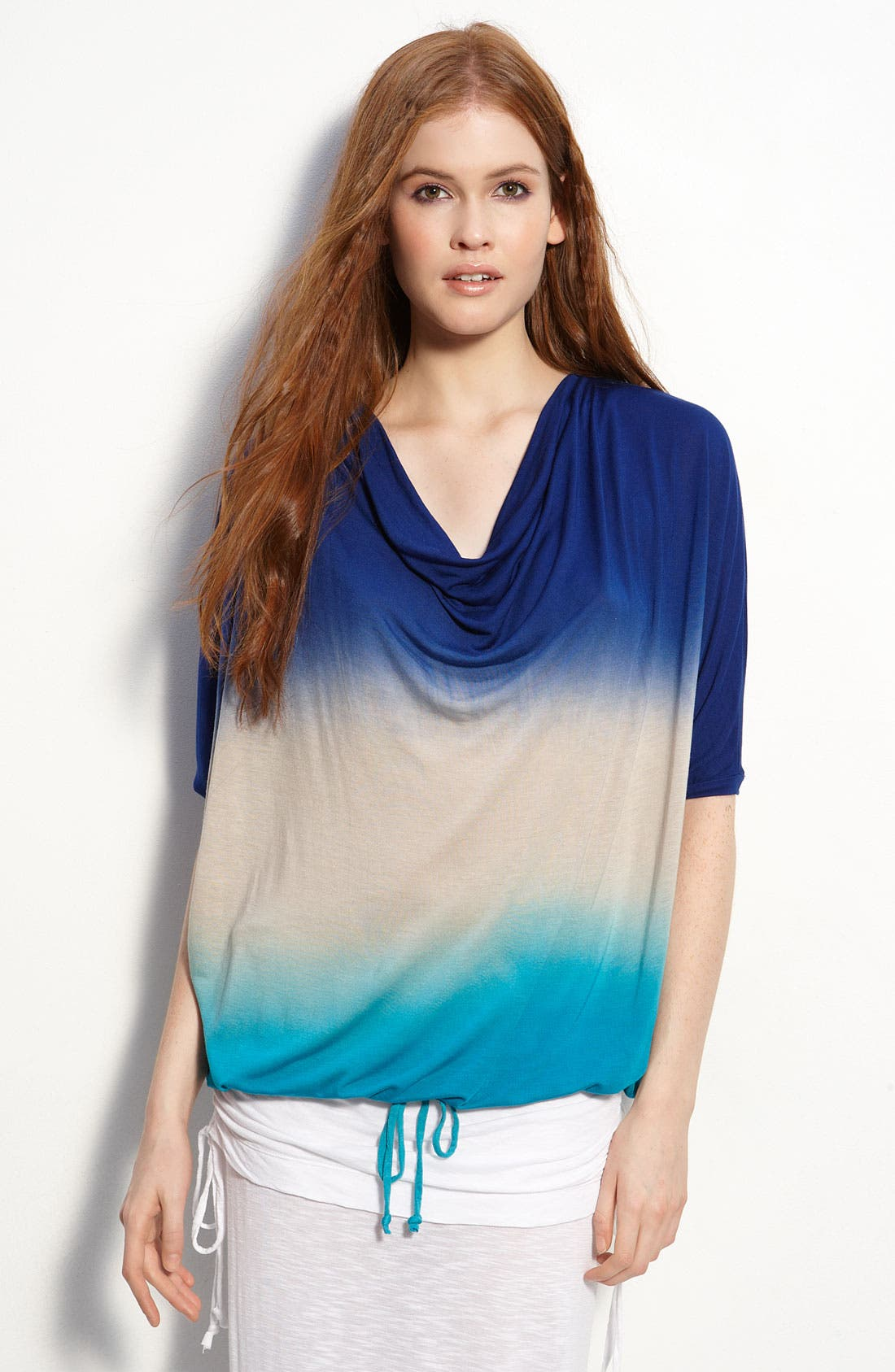 Alternate Image 1 Selected - Young, Fabulous & Broke Slouchy Drawstring Waist Top