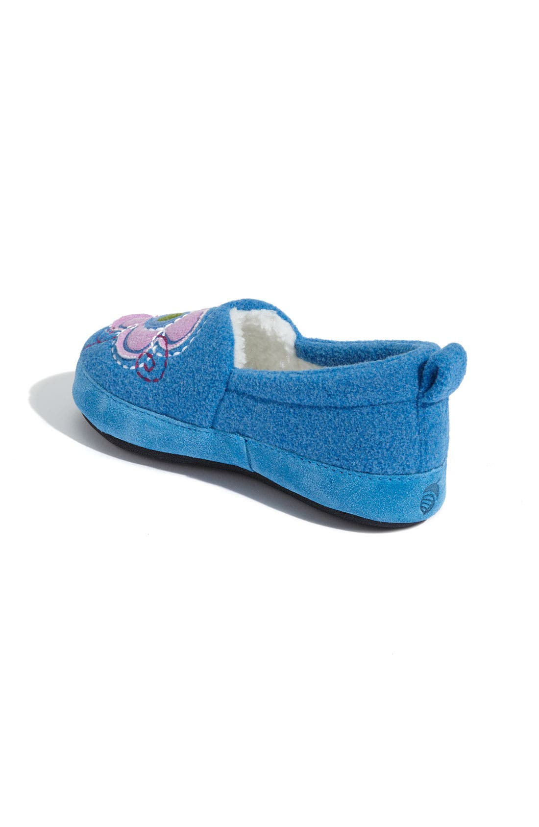 Alternate Image 2  - Acorn 'Flower Power Moc' Slipper (Toddler, Little Kid & Big Kid)