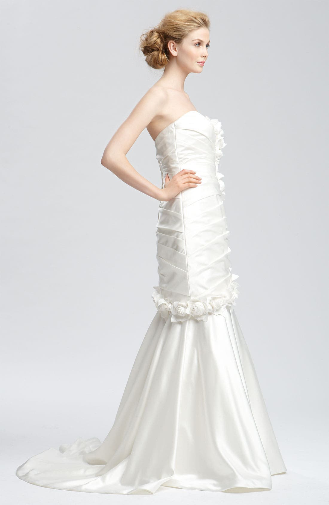 Alternate Image 4  - Faviana 'Eva' Convertible Satin Gown