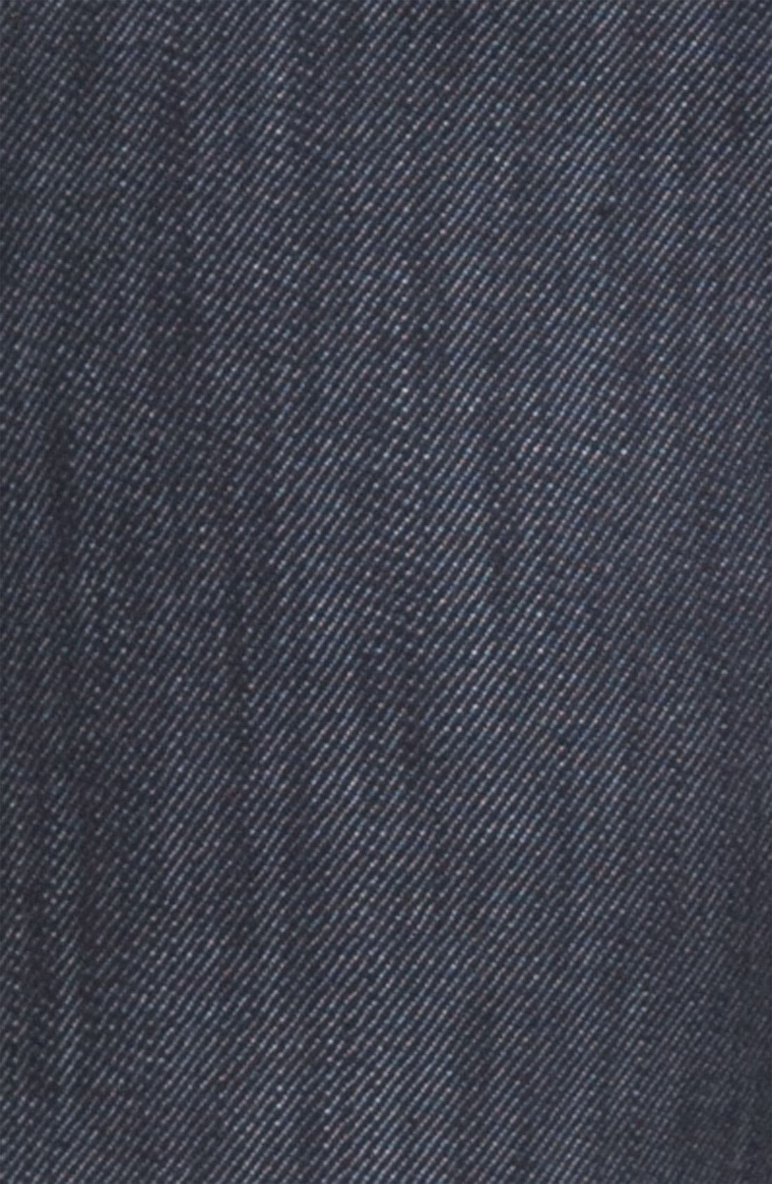 Alternate Image 4  - Burberry London Slim Leg Jeans (Navy Wash)