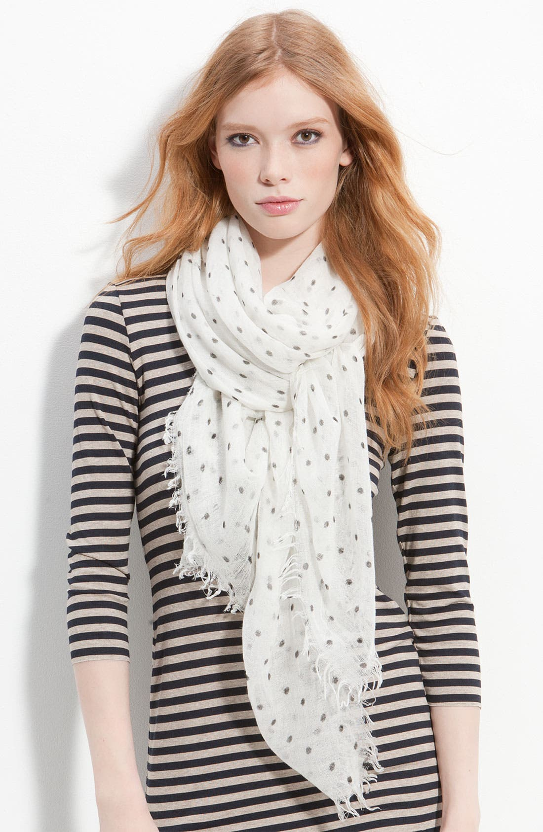 Alternate Image 1 Selected - Collection XIIX 'Pin Dot' Oversized Scarf