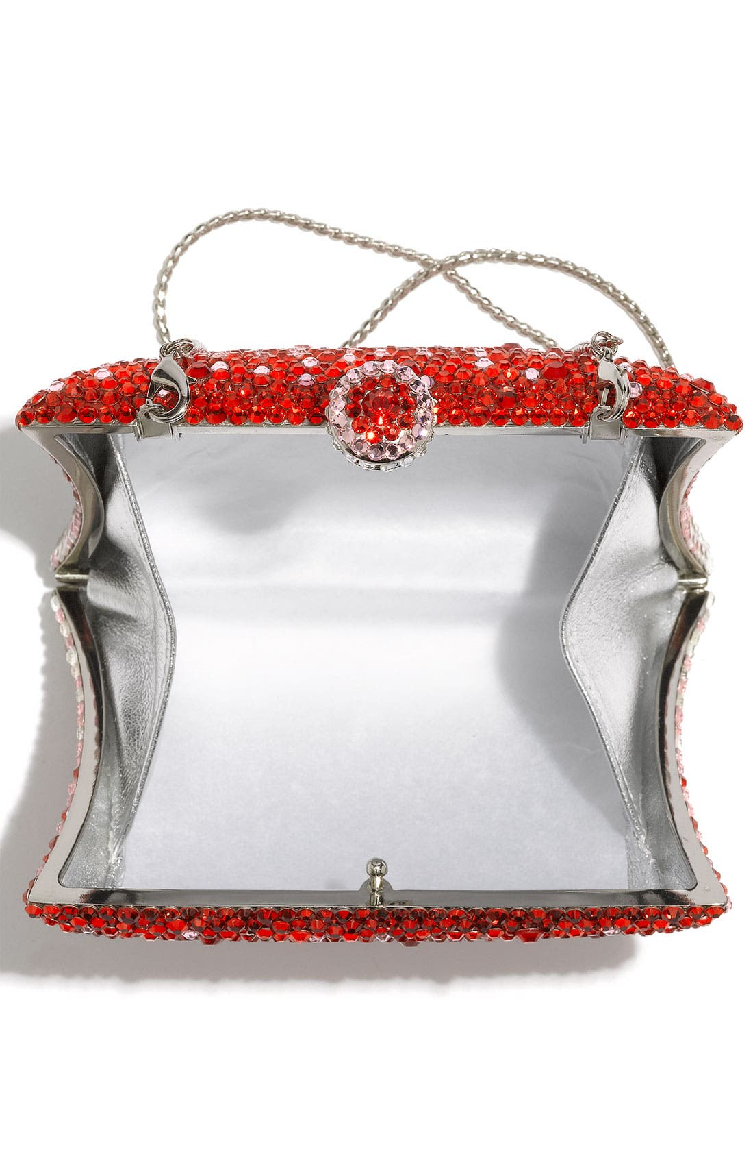 Alternate Image 3  - Natasha Couture Rhinestone Clutch
