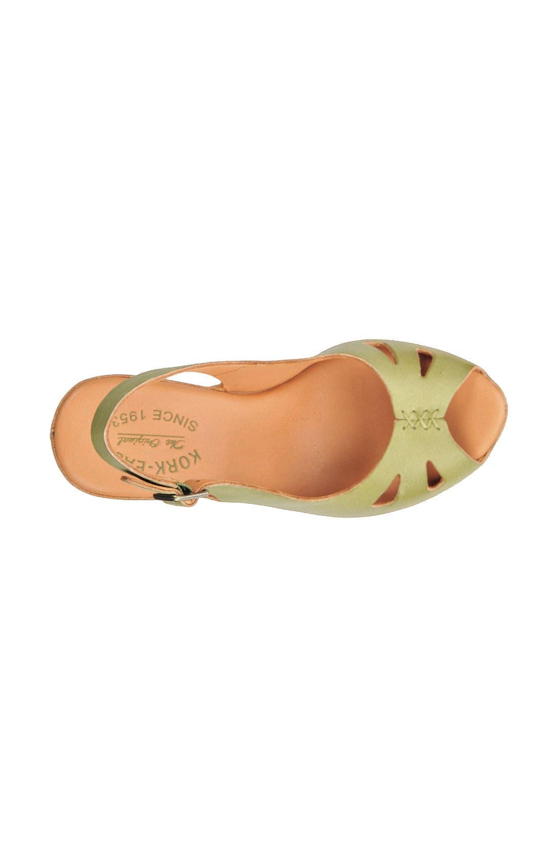 Alternate Image 3  - Kork-Ease® 'Felicia' Platform Sandal (Women)