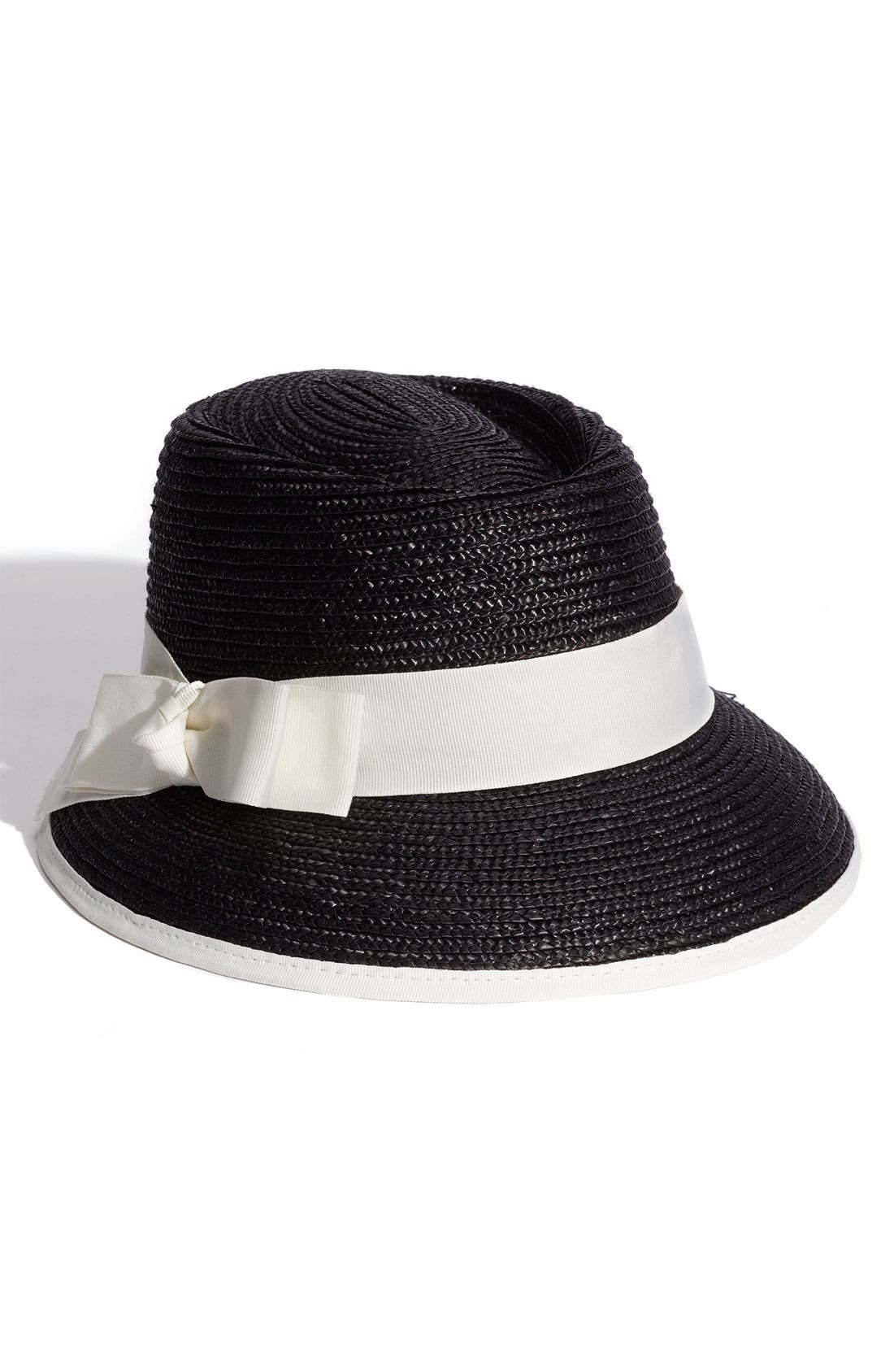 Alternate Image 1 Selected - Halogen® 'Long Brim' Straw Hat