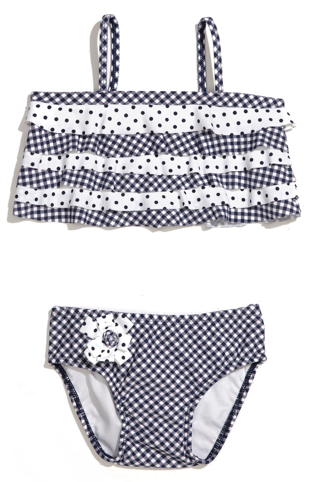 Alternate Image 1 Selected - Kate Mack 'Picnic Sail' Two Piece Swimsuit (Infant)