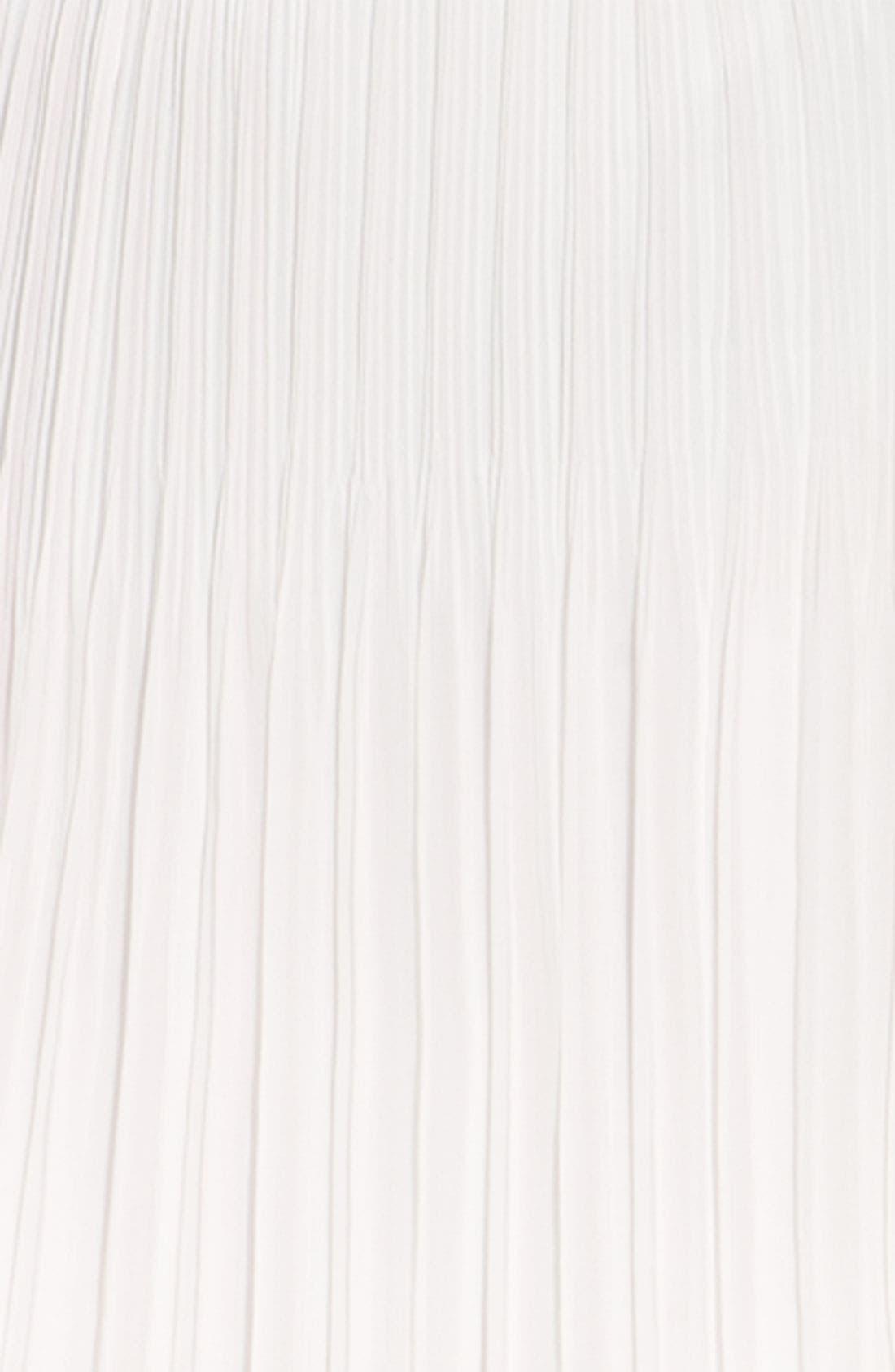 Alternate Image 3  - Trouvé Pleated Chiffon Miniskirt