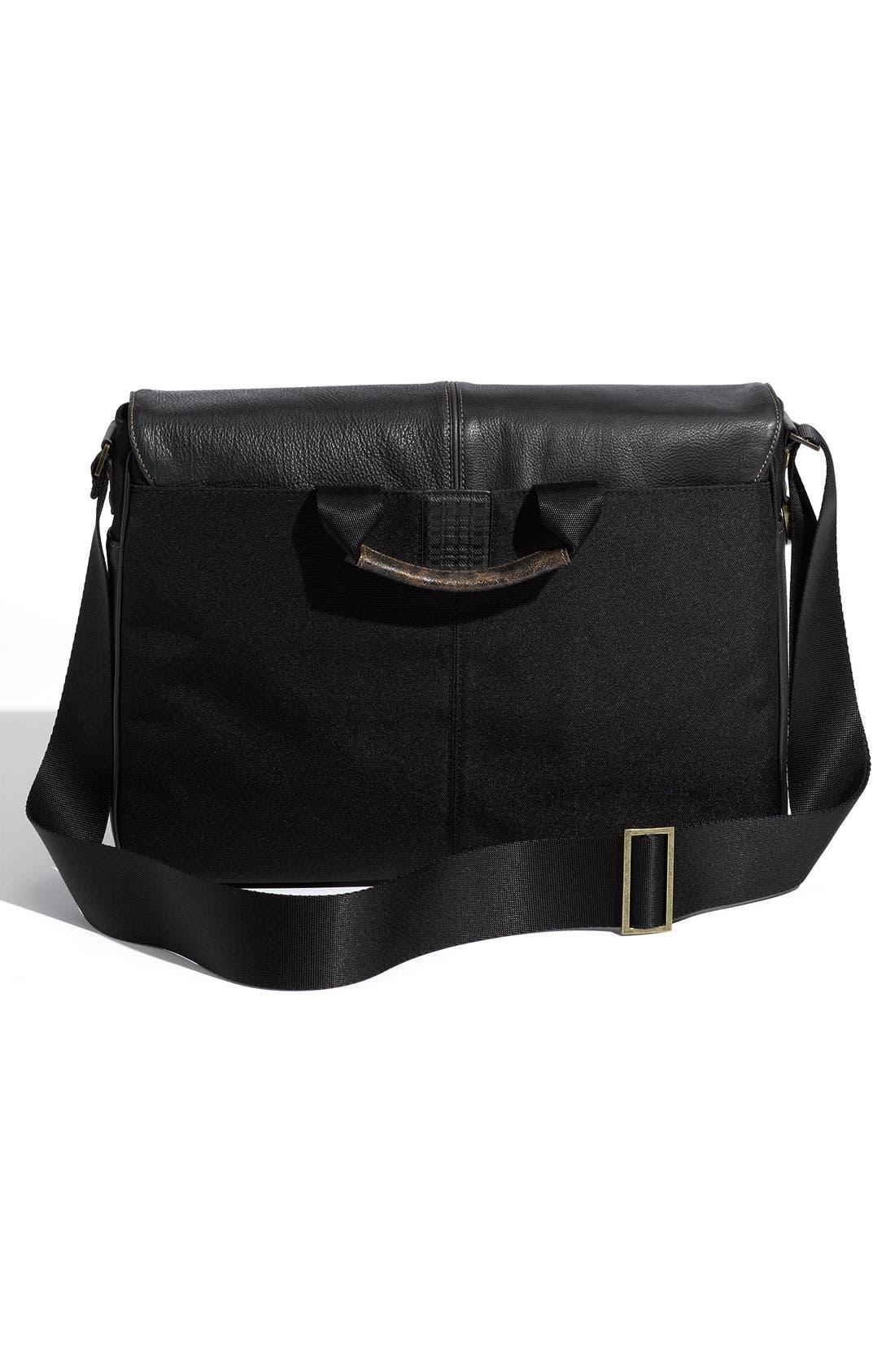 Alternate Image 2  - Boconi Leather Messenger Bag