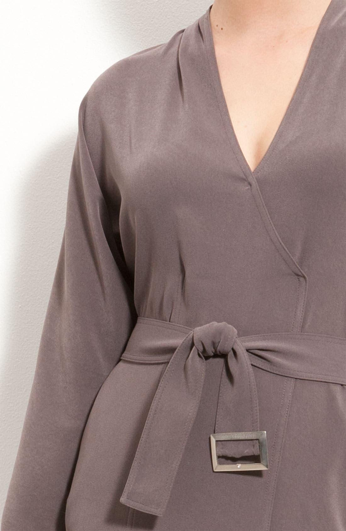 Alternate Image 3  - St. John Collection Batwing Sleeve Dress