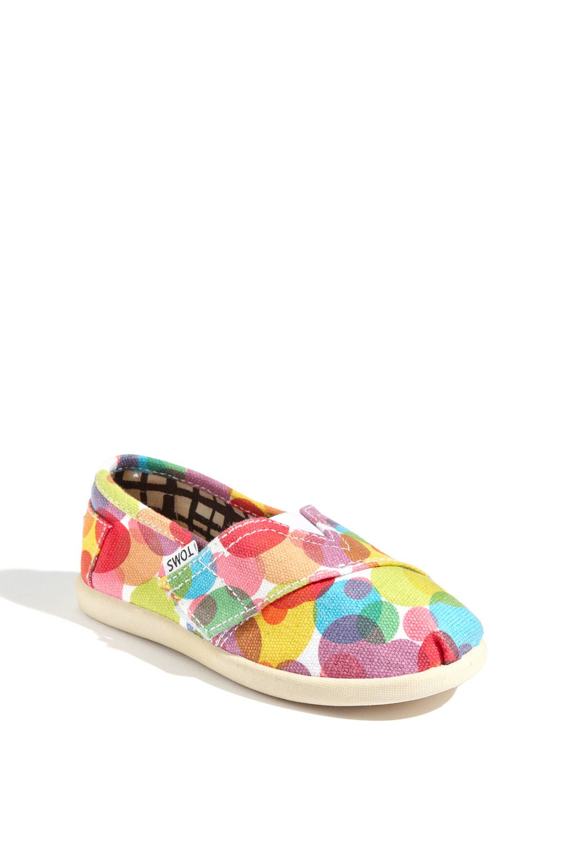 Main Image - TOMS 'Classic Tiny - Clea' Slip-On (Baby, Walker & Toddler)