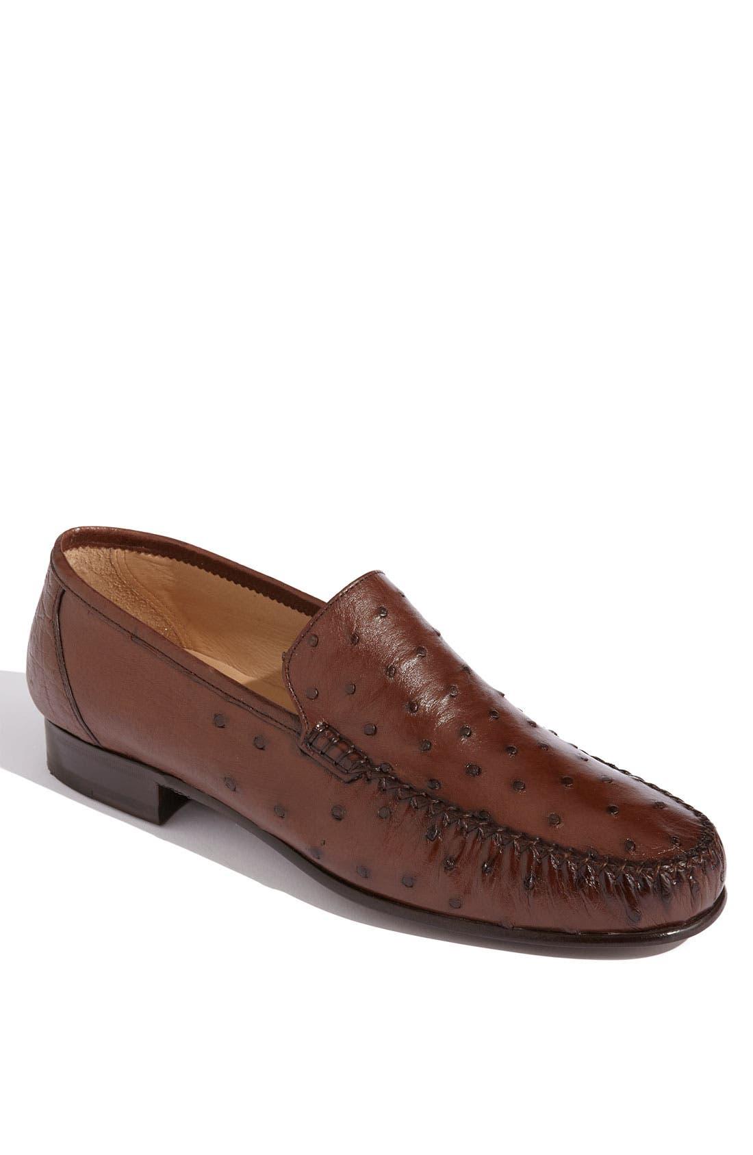 Alternate Image 1 Selected - Magnanni 'Solea' Ostrich Loafer