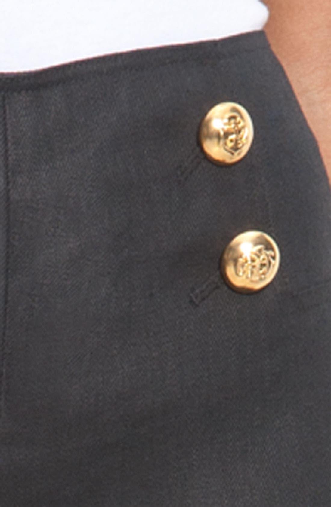 Alternate Image 3  - Lafayette 148 New York 'Lavish Linen' Sailor Pants