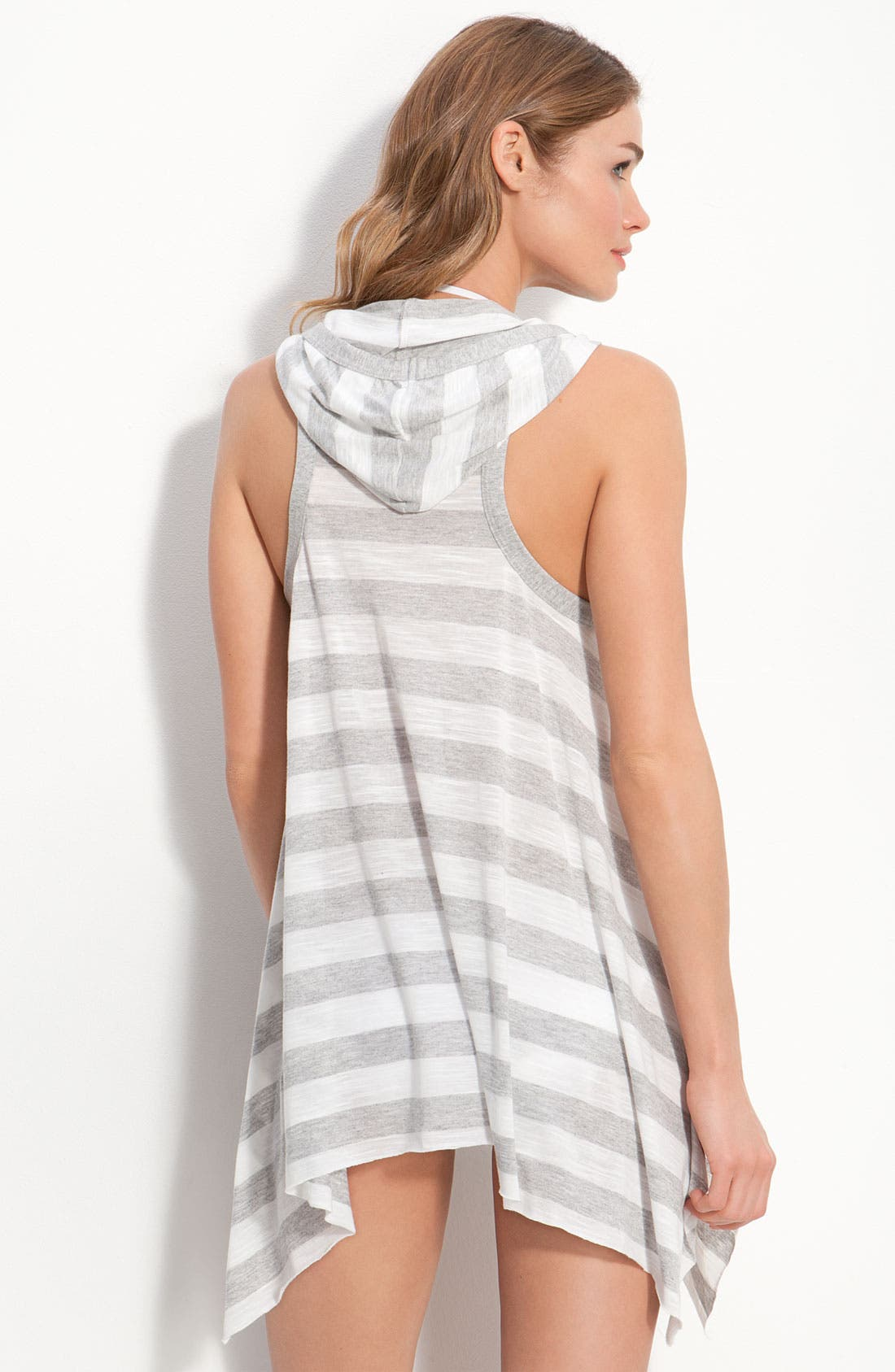 Alternate Image 2  - Robin Piccone 'Ella' Hooded Dress Cover-Up