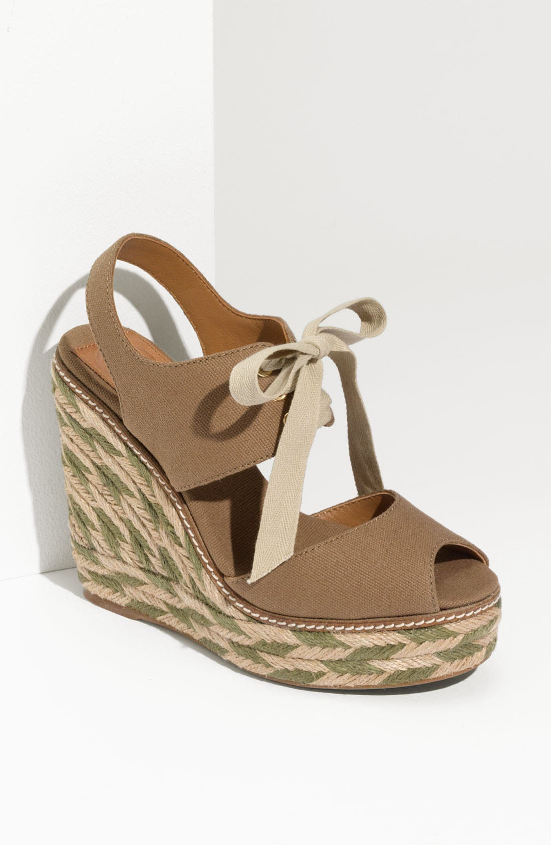 Alternate Image 1 Selected - Tory Burch 'Linley' High Wedge Espadrille