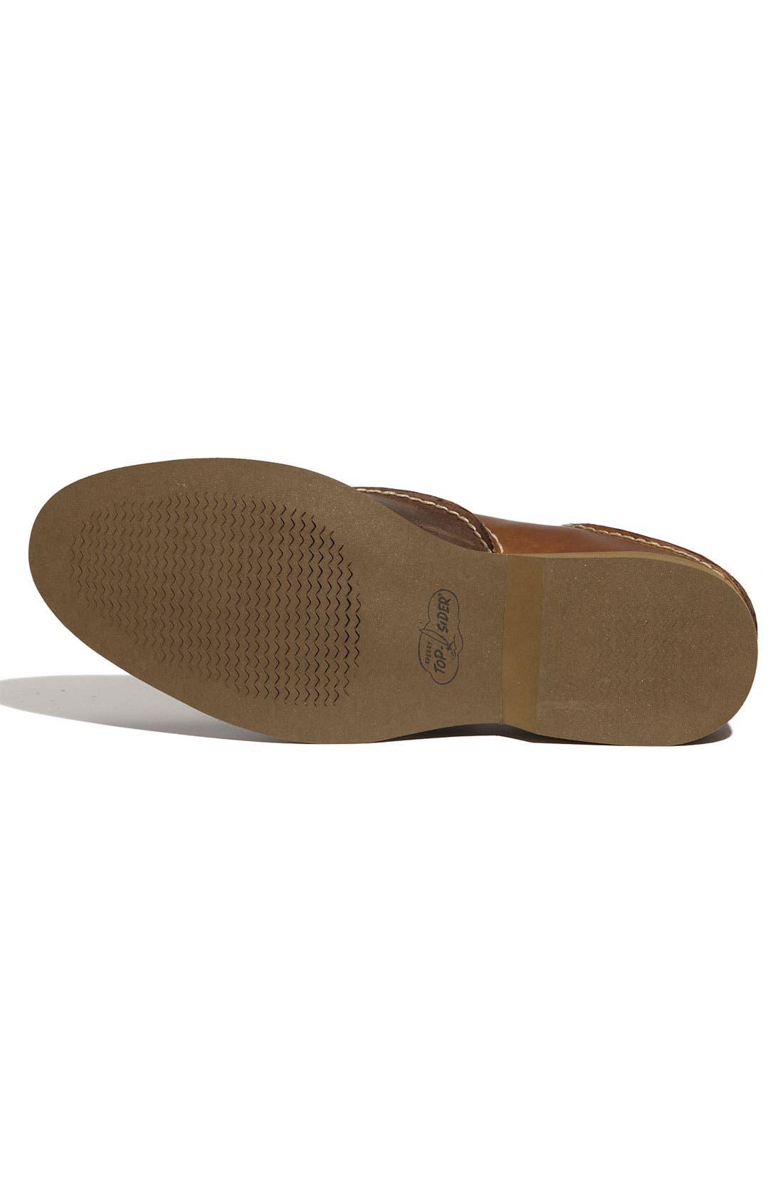 Alternate Image 4  - Sperry Top-Sider® 'Boat' Oxford Saddle Shoe