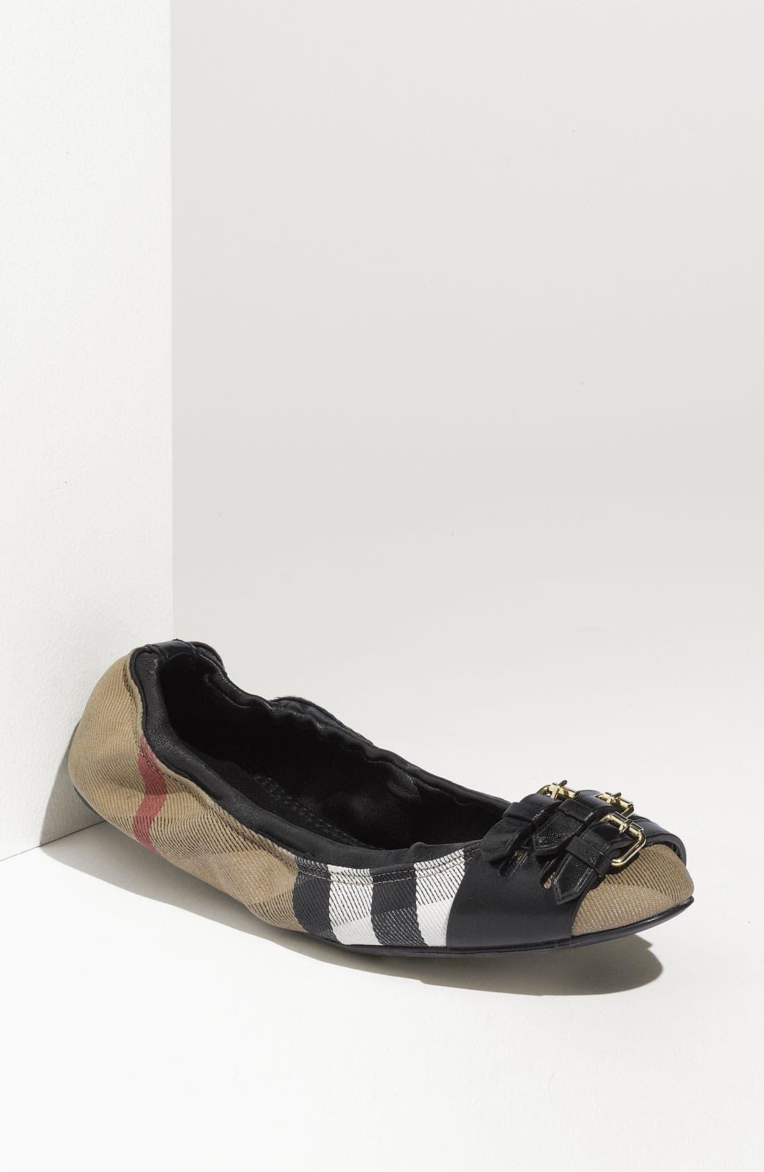 Main Image - Burberry Ballet Flat