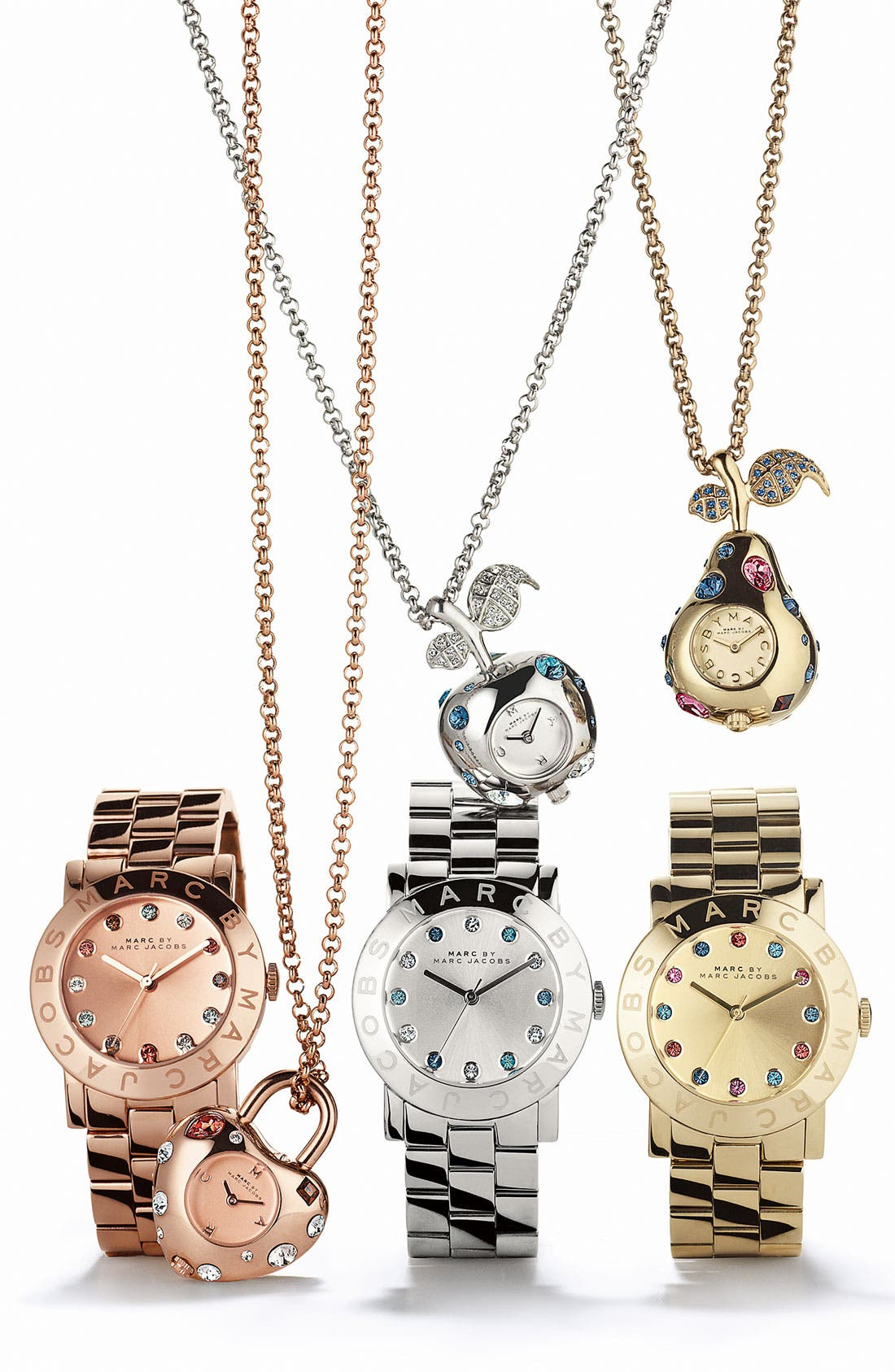 Alternate Image 3  - MARC BY MARC JACOBS 'Dexter Bauble' Watch Necklace