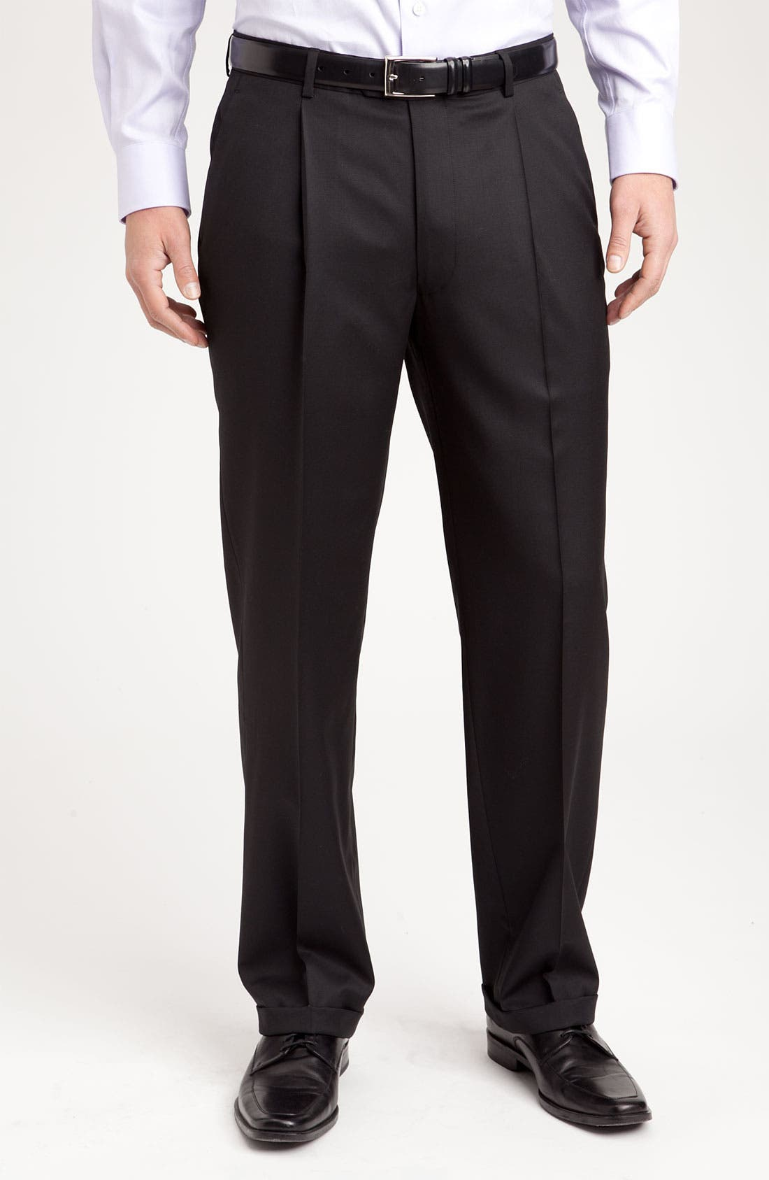 Alternate Image 4  - John W. Nordstrom® Travel Wool Suit