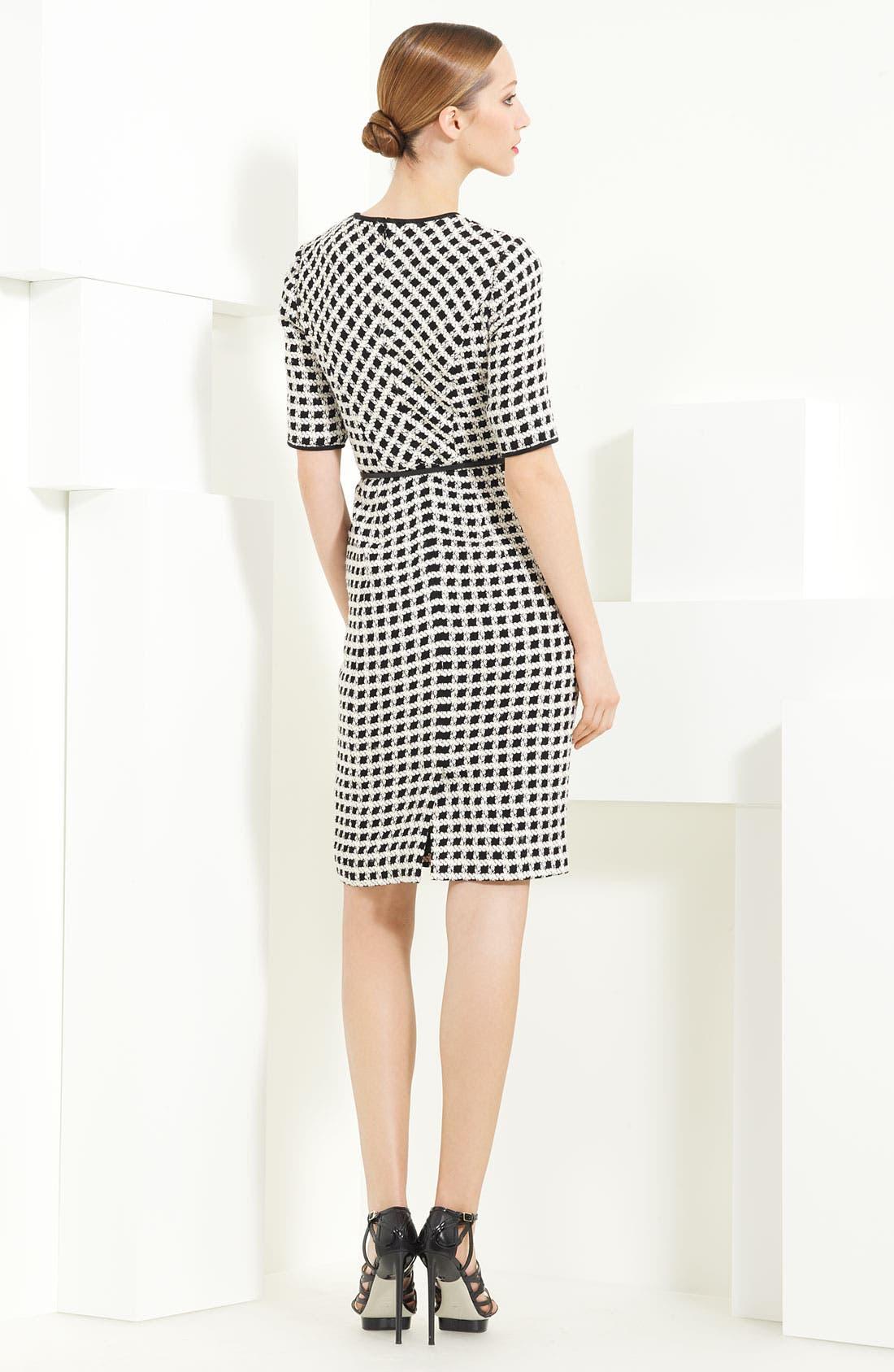 Alternate Image 2  - Jason Wu Belted Tweed Dress