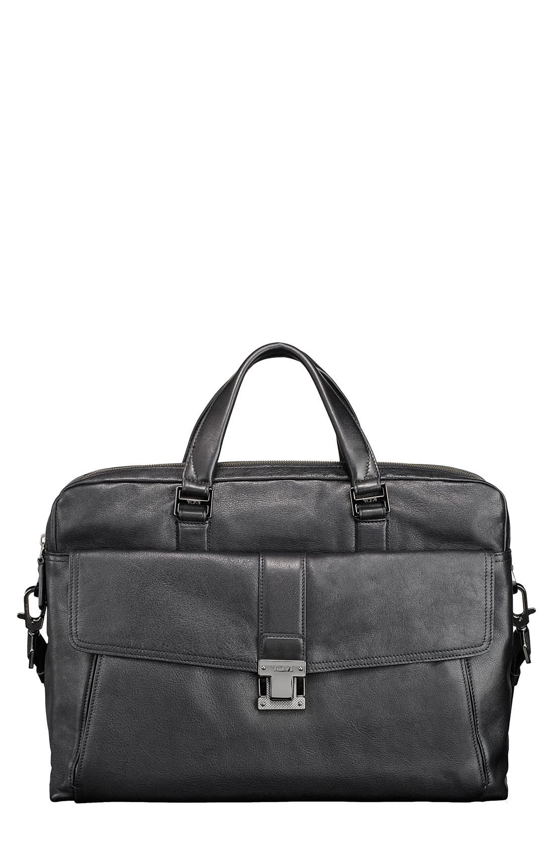 Alternate Image 1 Selected - Tumi 'Beacon Hill - Chestnut Large' Laptop Briefcase