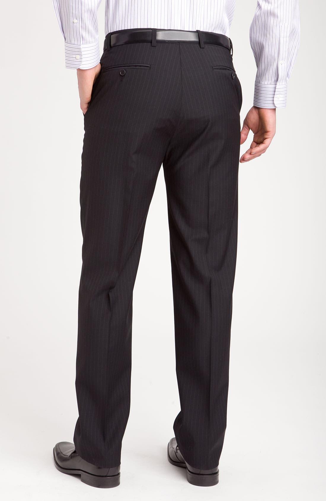 Alternate Image 5  - Joseph Abboud Two Button Stripe Suit