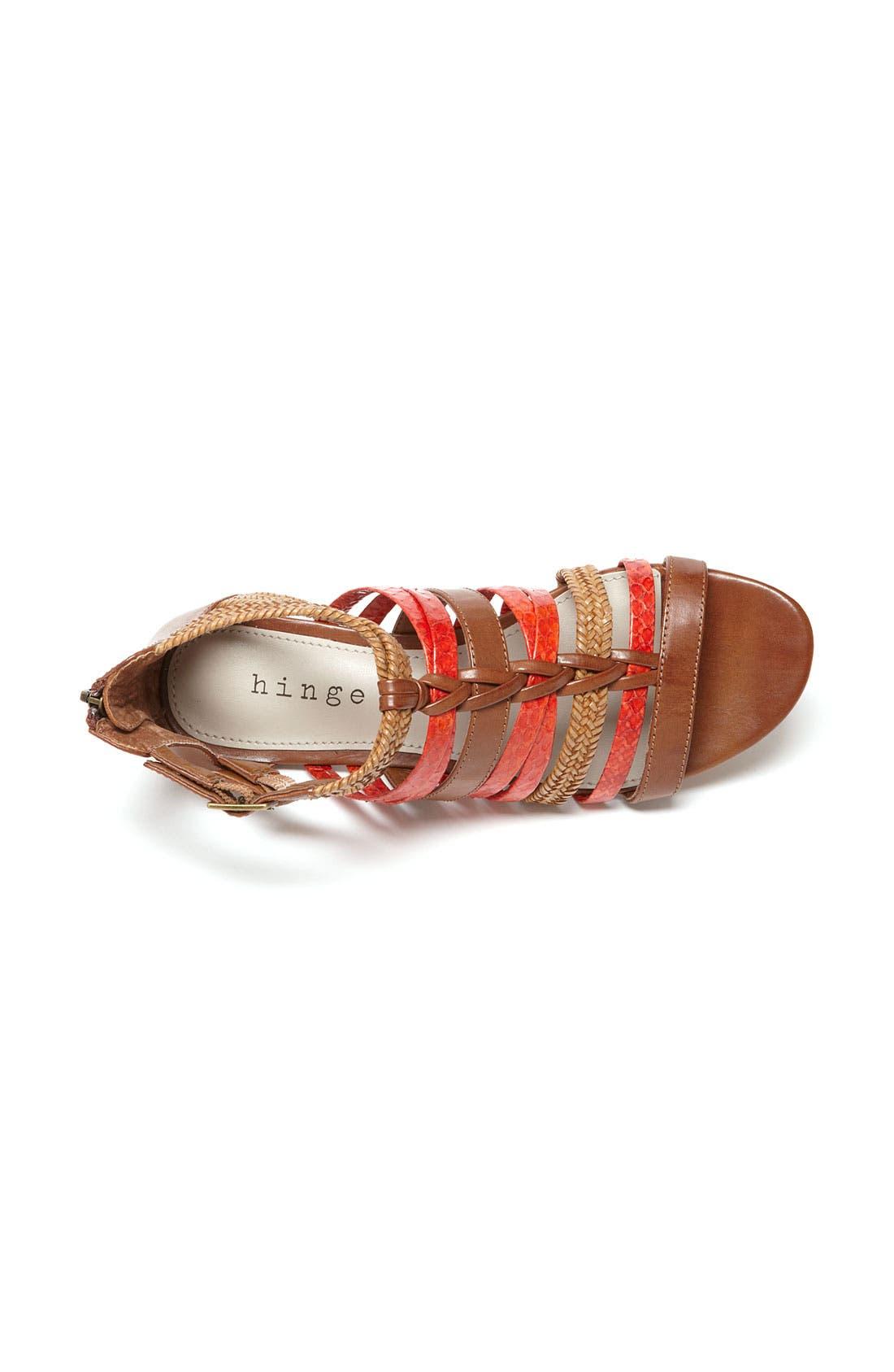 Alternate Image 3  - Hinge® 'Tanner' Sandal