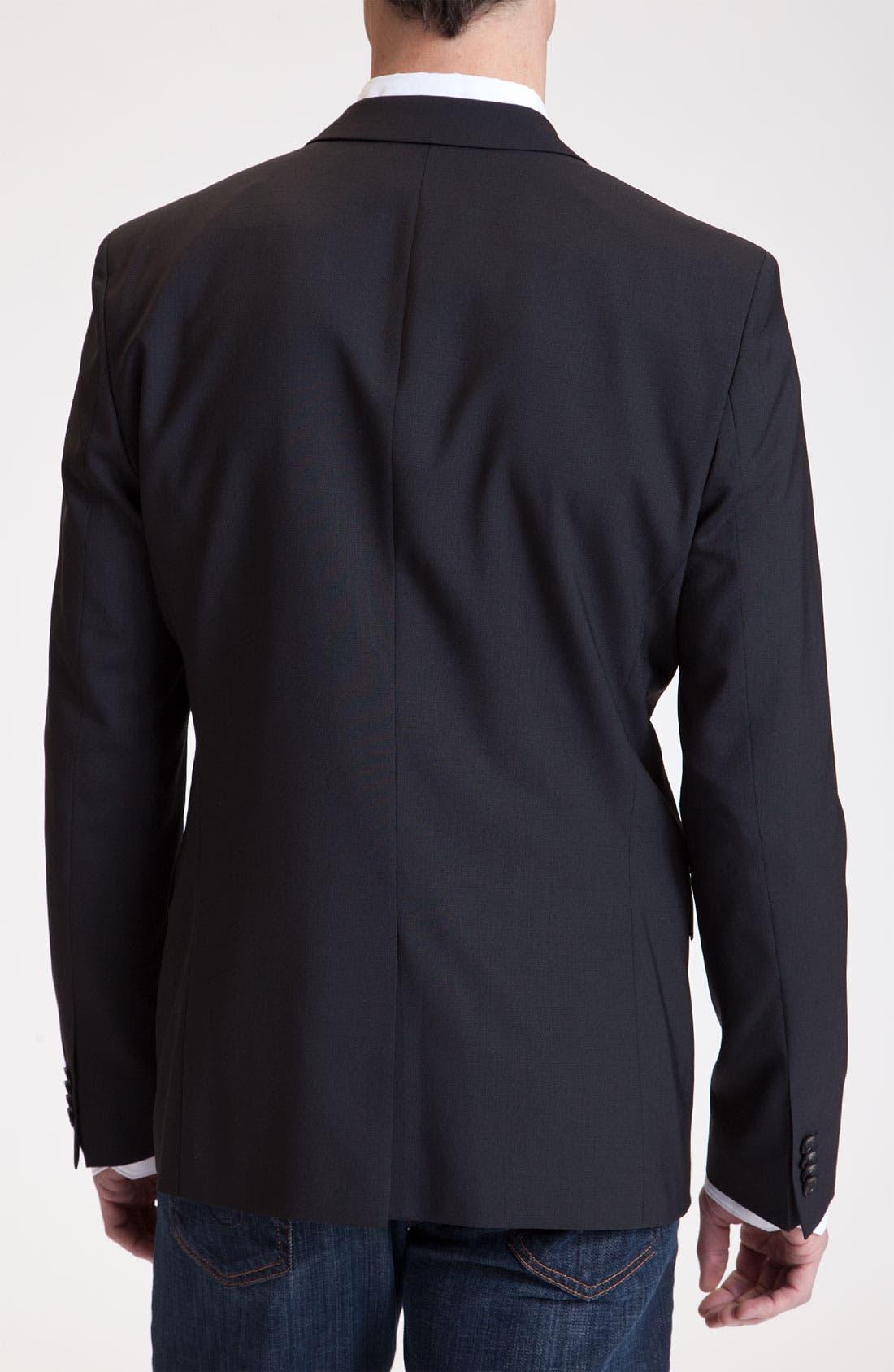 Alternate Image 2  - HUGO 'Amares' Stretch Wool Sportcoat