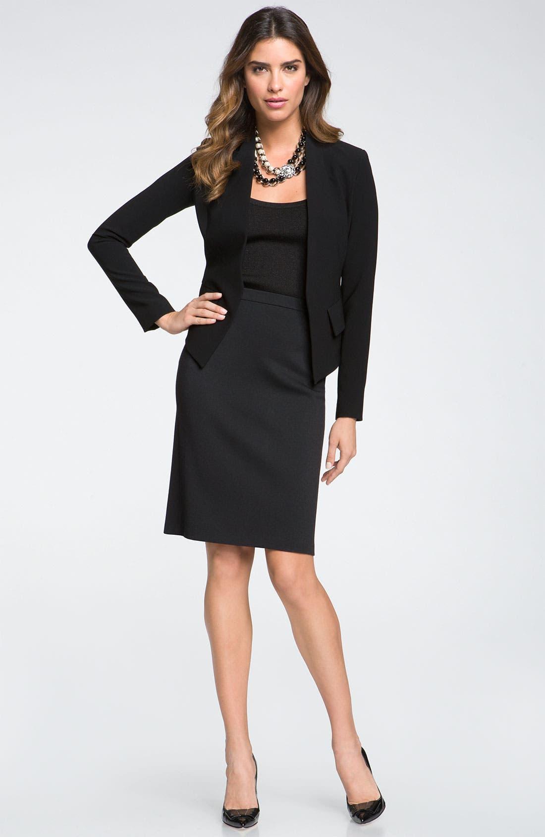 Main Image - St. John Collection Jacket & Skirt