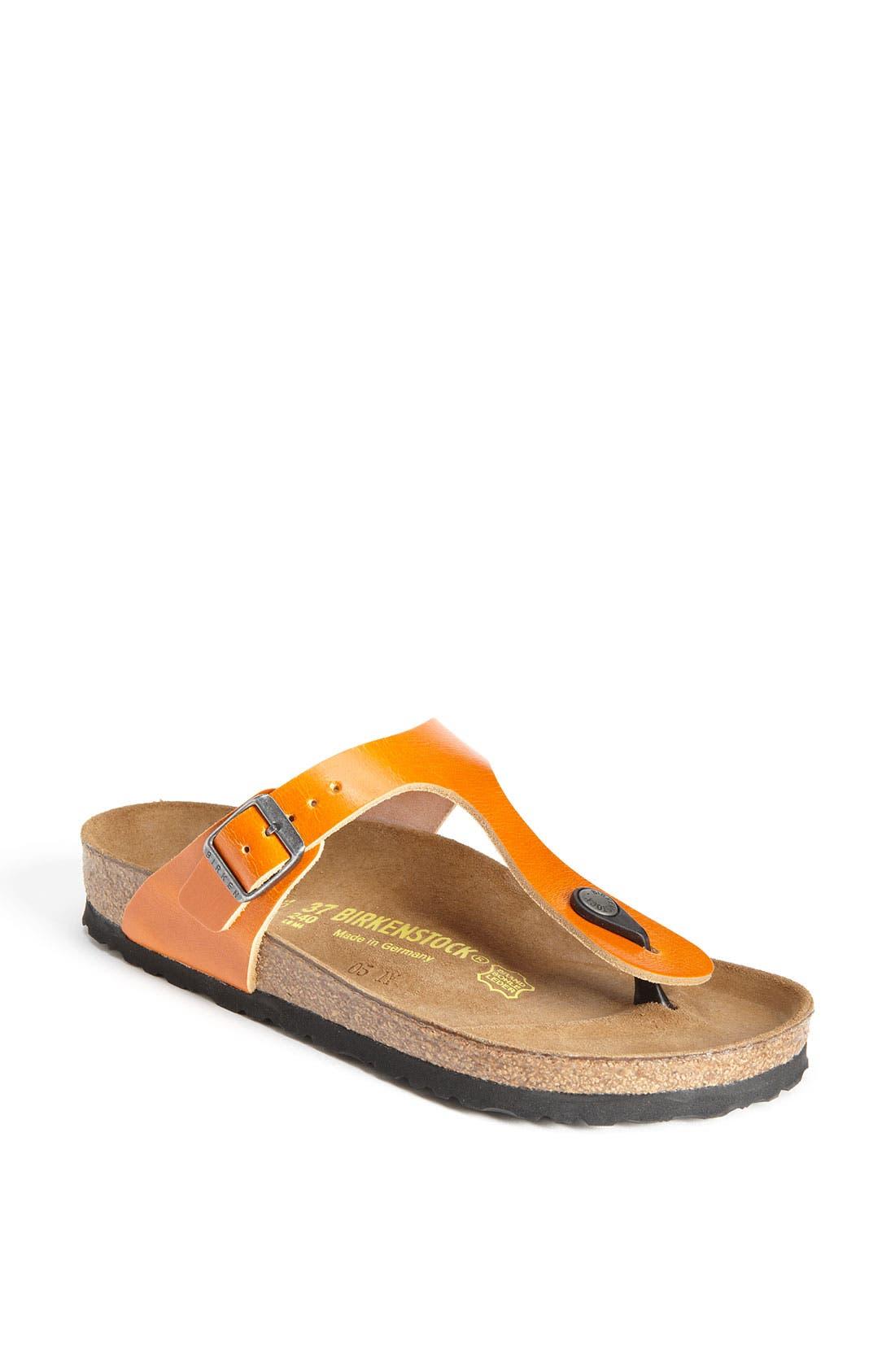 Main Image - Birkenstock 'Gizeh' Sandal (Exclusive)
