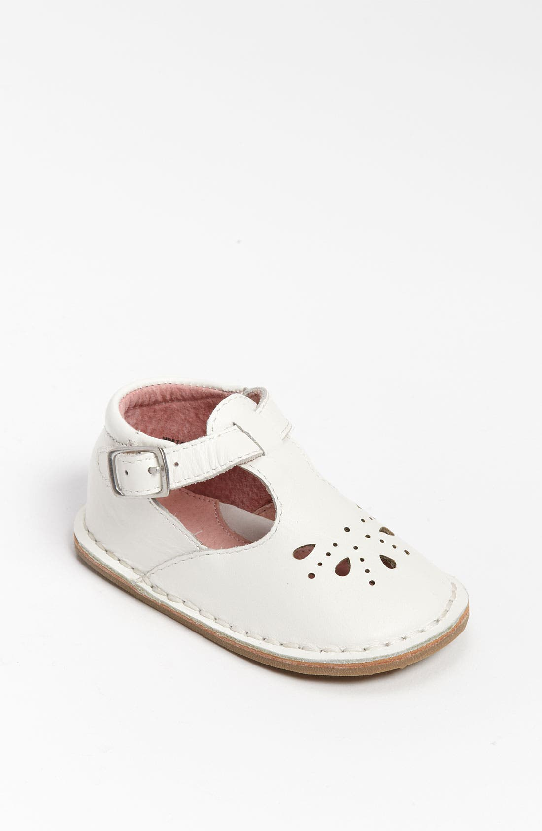 Alternate Image 1 Selected - Cole Haan 'Mini' T-Strap Shoe (Baby)