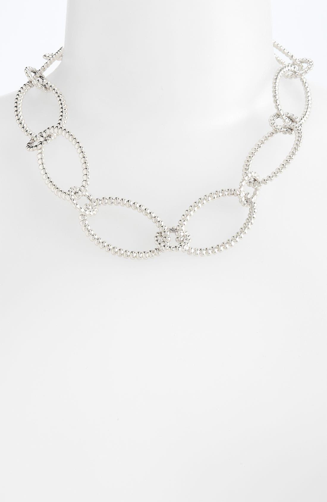 Alternate Image 1 Selected - John Hardy 'Bedeg' Silver Link Necklace