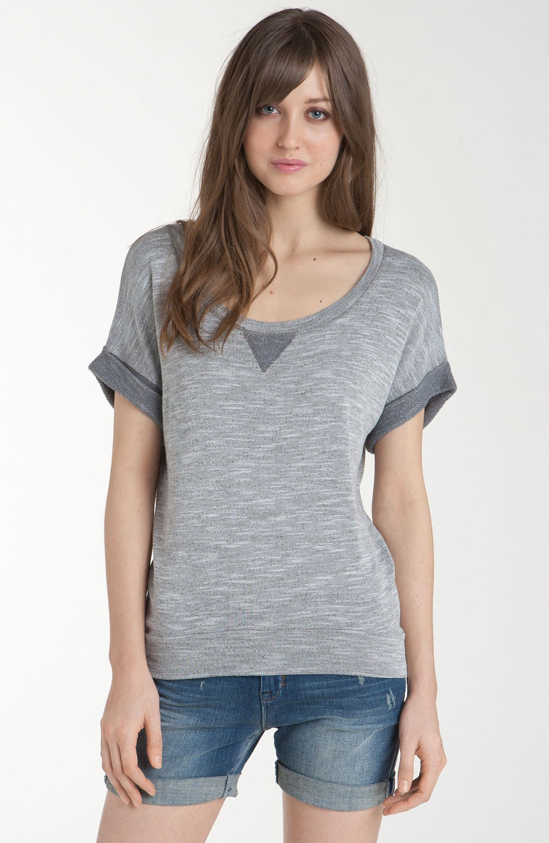 Main Image - Splendid Mélange Sweatshirt