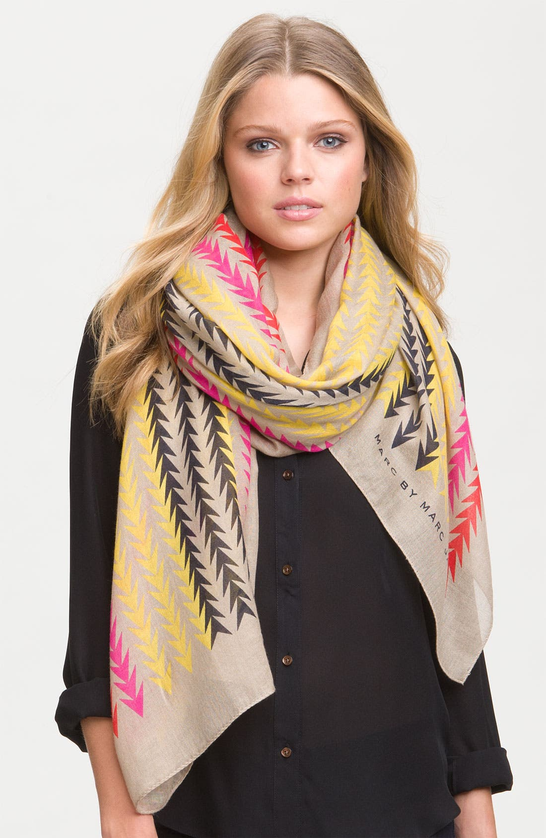 Main Image - MARC BY MARC JACOBS 'Arrowhead' Scarf
