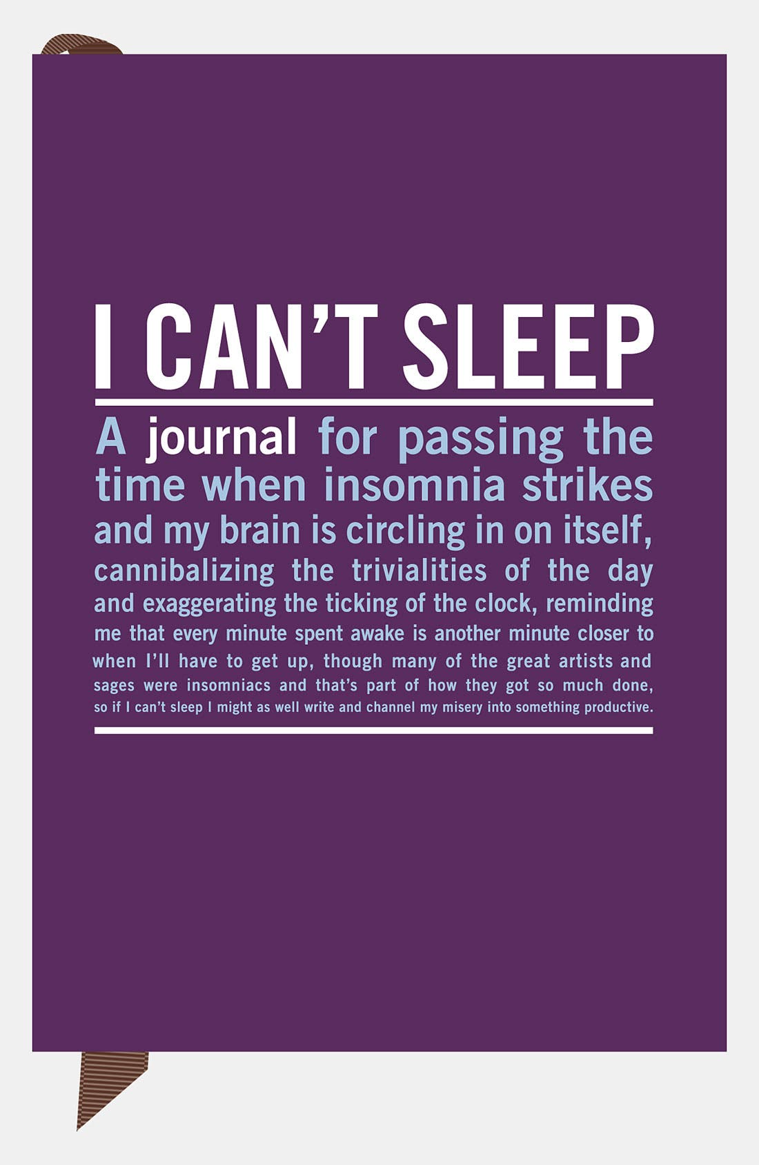 Alternate Image 1 Selected - Knock Knock 'I Can't Sleep' Mini Journal