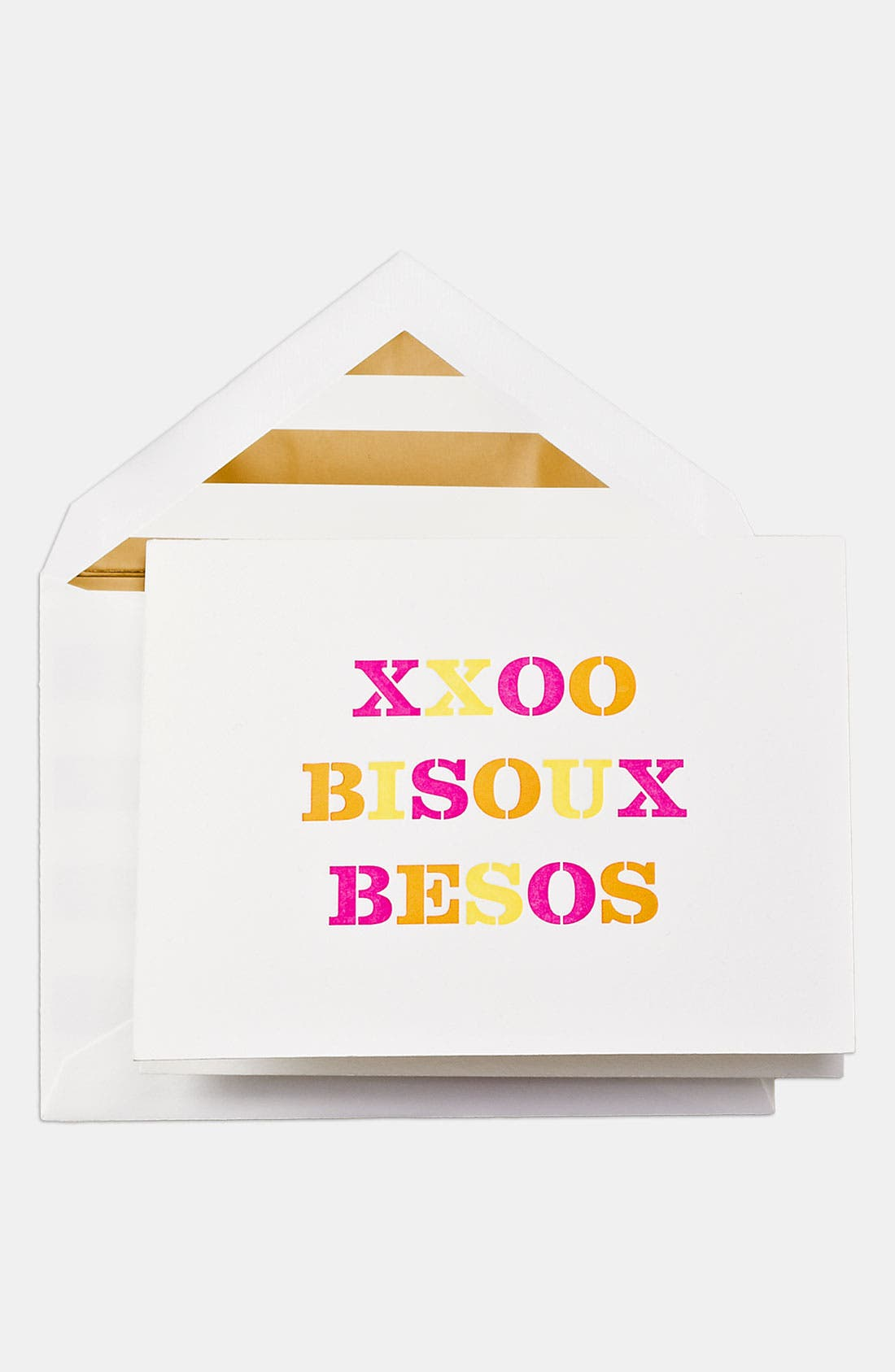 Alternate Image 1 Selected - kate spade new york 'besos' note card set
