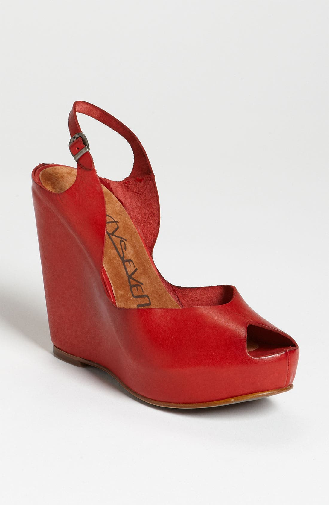 Alternate Image 1 Selected - SIXTYSEVEN '72702' Slingback Wedge