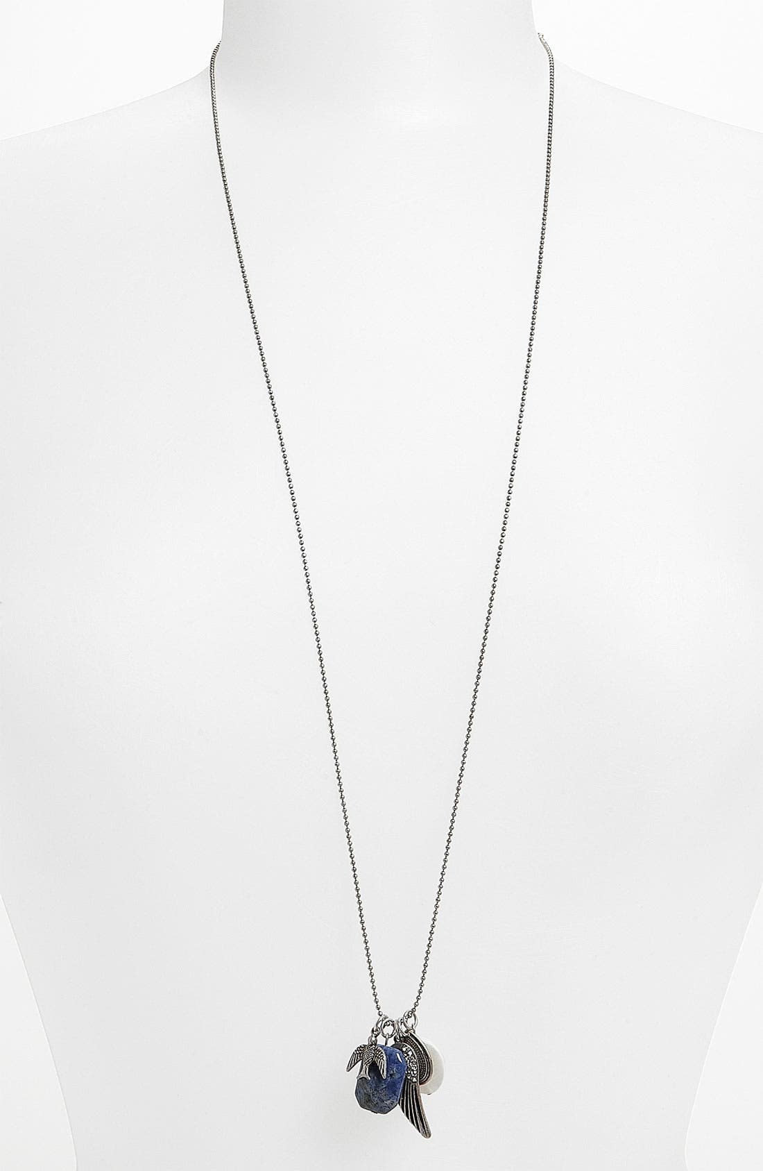 Alternate Image 1 Selected - Stephan & Co. Bird Charm Necklace
