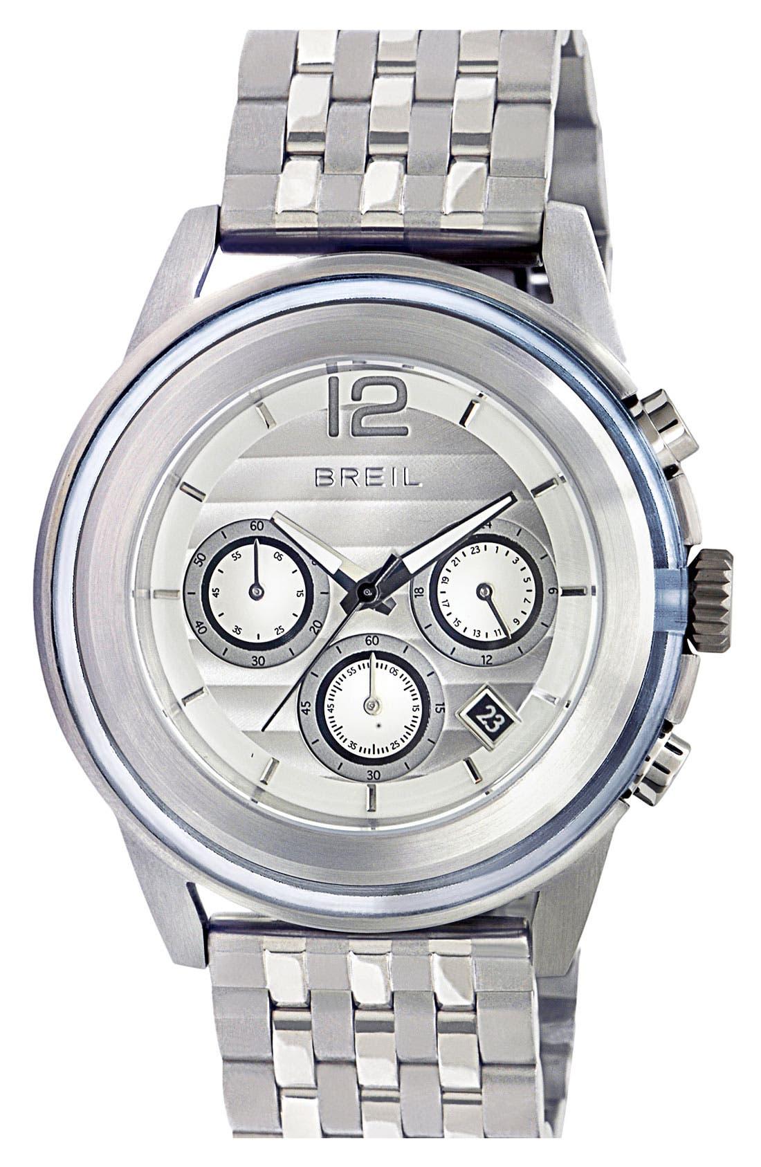 Alternate Image 1 Selected - Breil 'Orchestra' Chronograph Bracelet Watch, 45mm