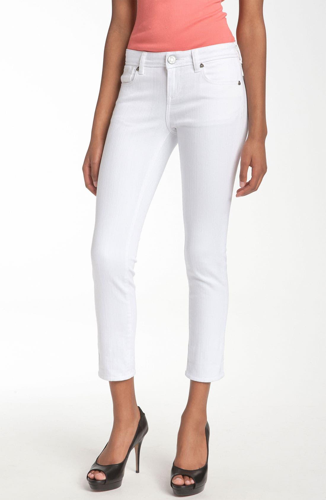 Alternate Image 3  - KUT from the Kloth 'Catherine' Slim Boyfriend Jeans (White Wash)