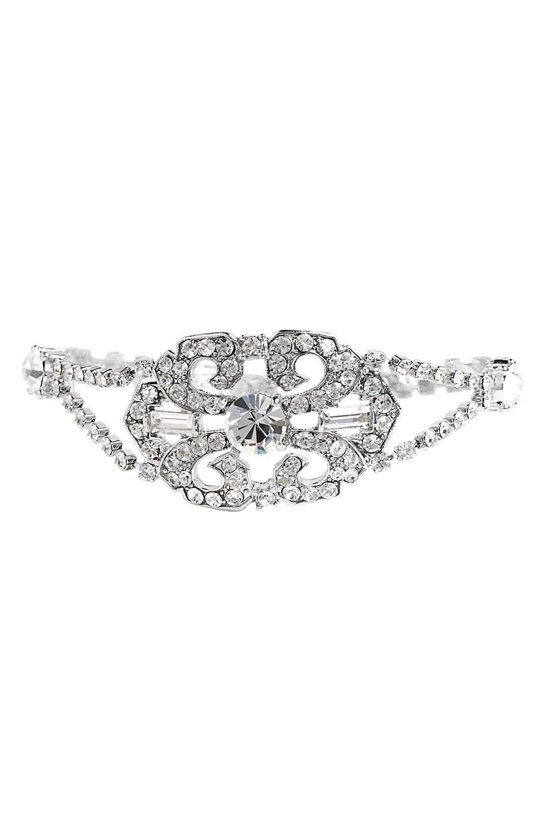 Alternate Image 1 Selected - Nina 'Kiera' Czech Crystal Bracelet