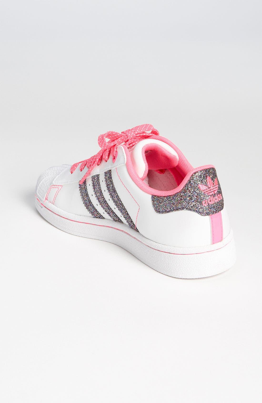 Alternate Image 2  - adidas 'Sparkle Superstar 2' Sneaker (Toddler & Little Kid)