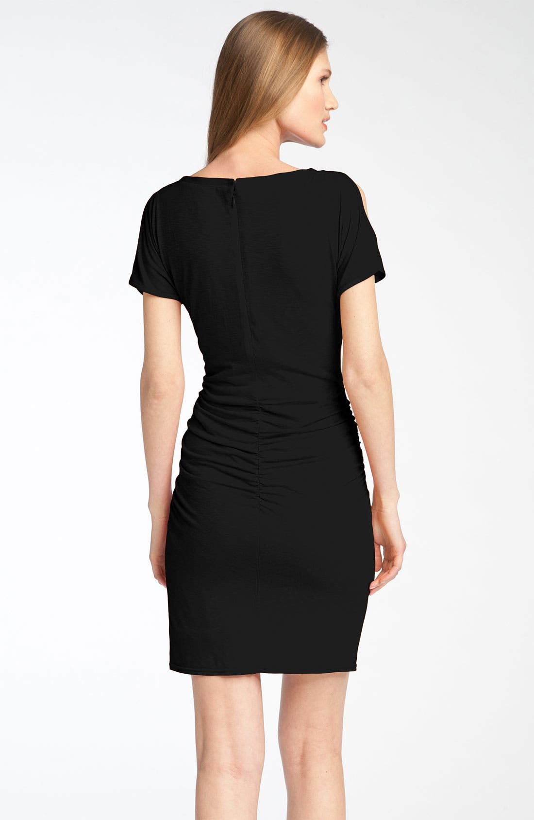 Alternate Image 2  - Jessica Simpson Split Sleeve Sheath Dress