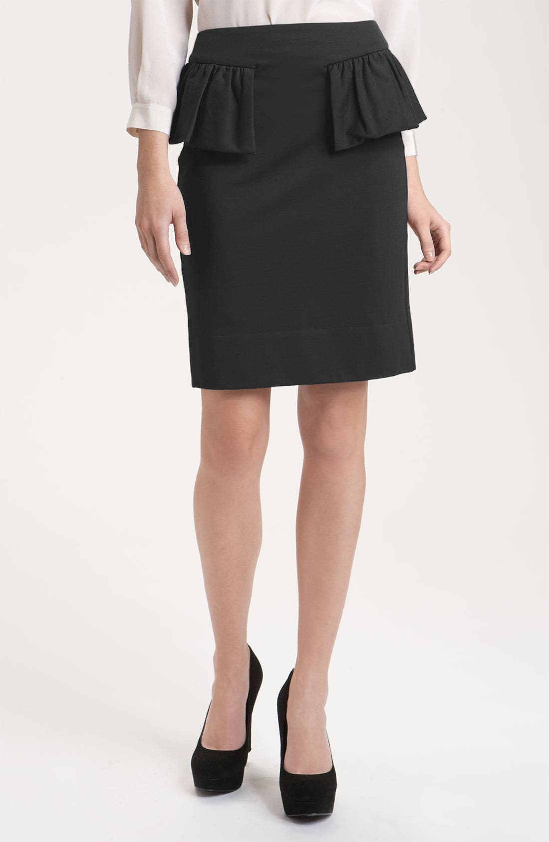 Alternate Image 1 Selected - MARC BY MARC JACOBS 'Hannah' Jersey Ruffle Peplum Skirt