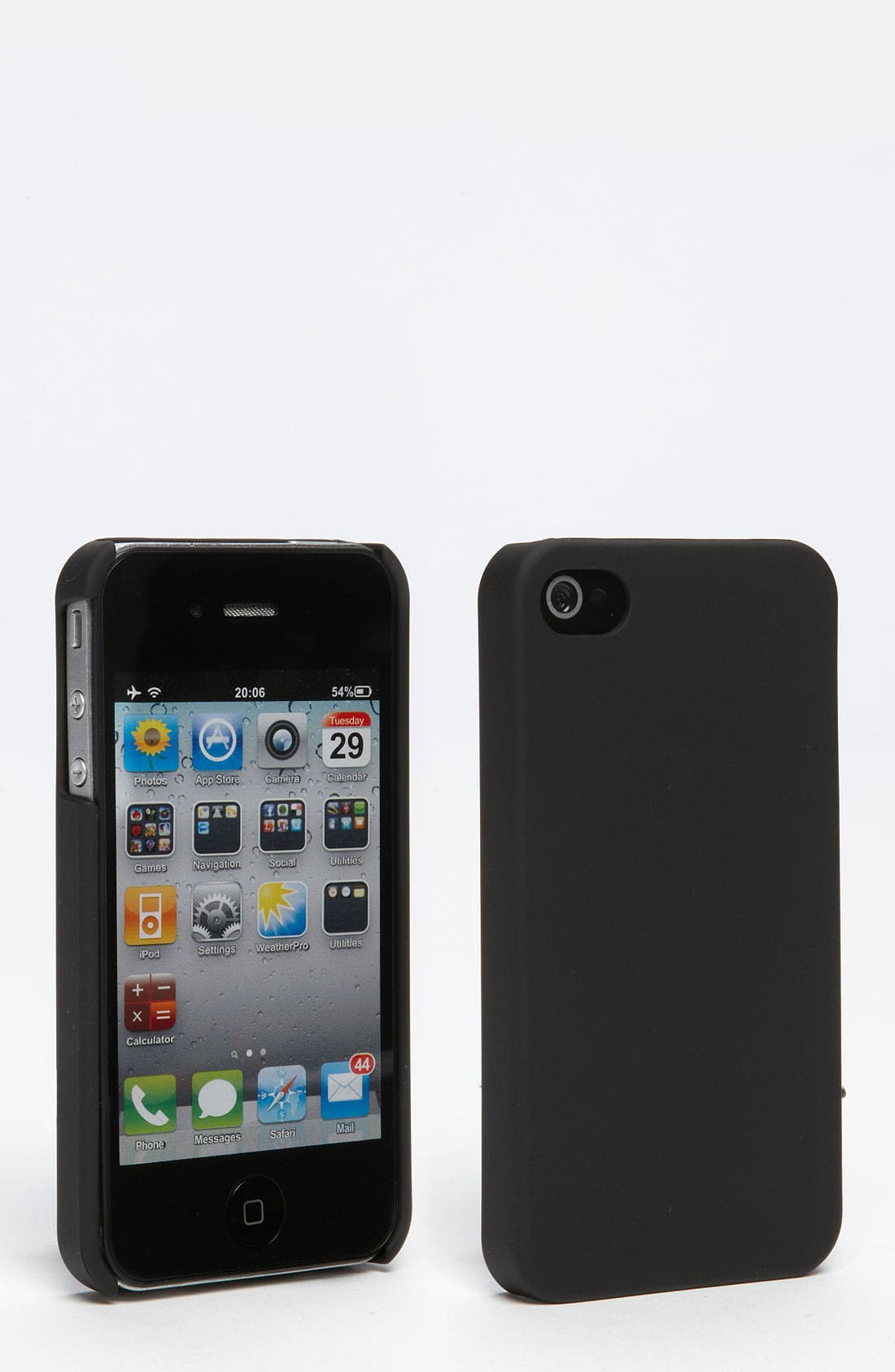 Alternate Image 1 Selected - Skinit 'Soft Touch Slim' iPhone 4 & 4S Case