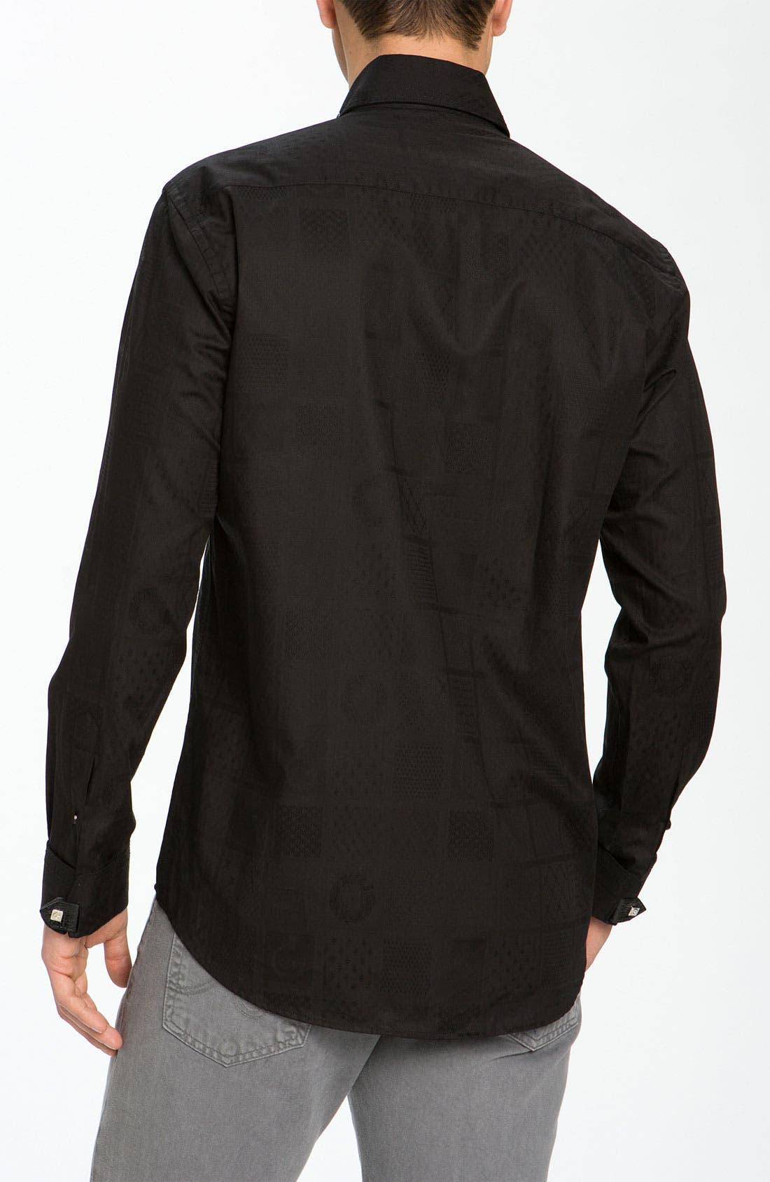 Alternate Image 3  - Bogosse 'Matis' Jacquard Sport Shirt