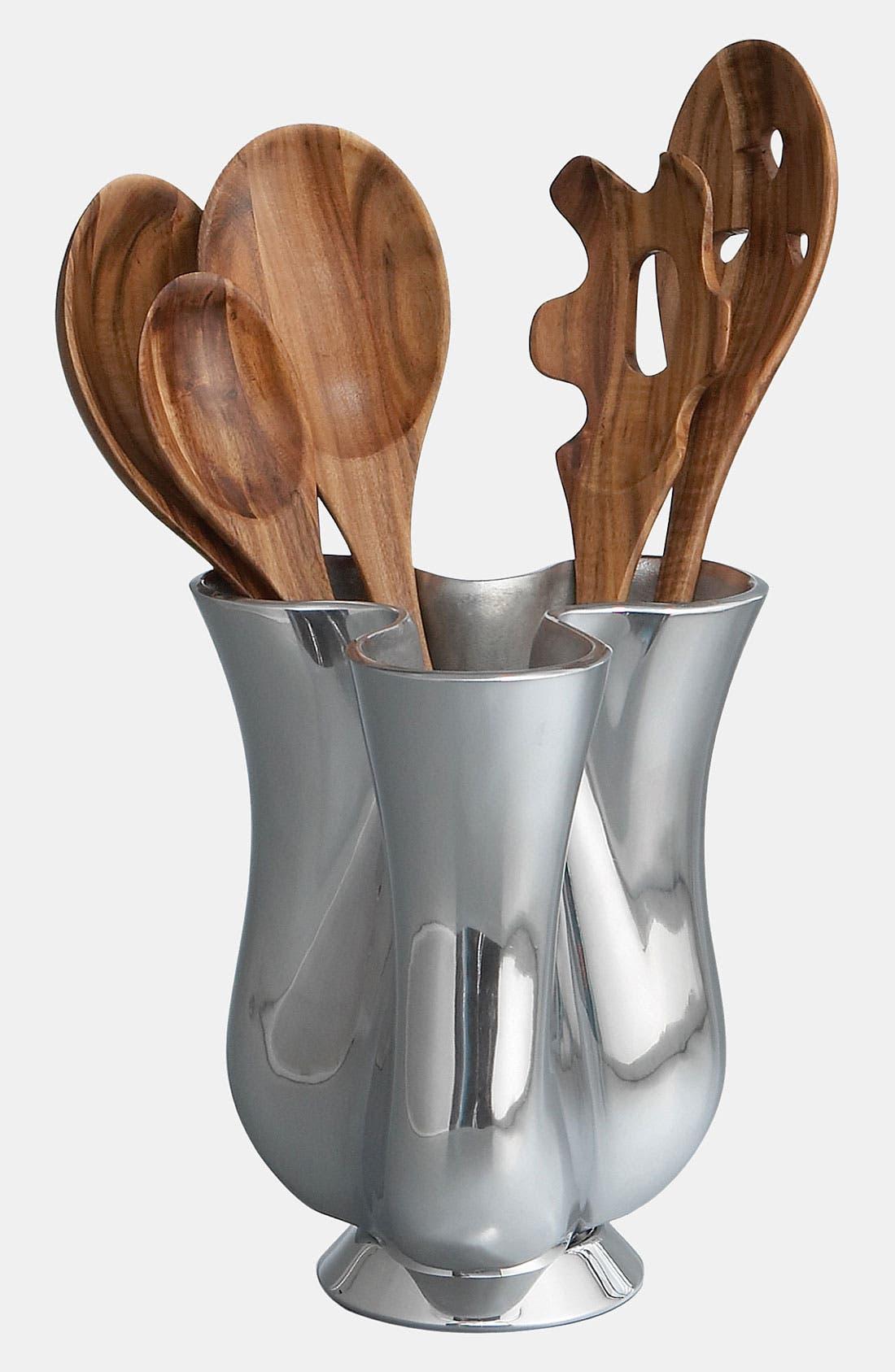 Alternate Image 1 Selected - Nambé Tulip 6-Piece Kitchen Tool & Jug Set